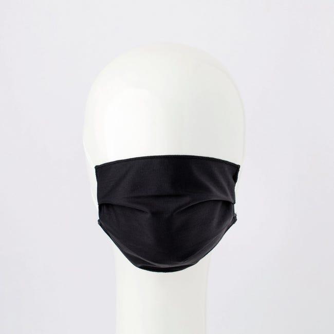 Maschera in tessuto lavabile per utilizzo non sanitario Elegante 2 pezzi - 1