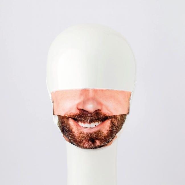 Maschera in tessuto lavabile per utilizzo non sanitario Sorriso - 1