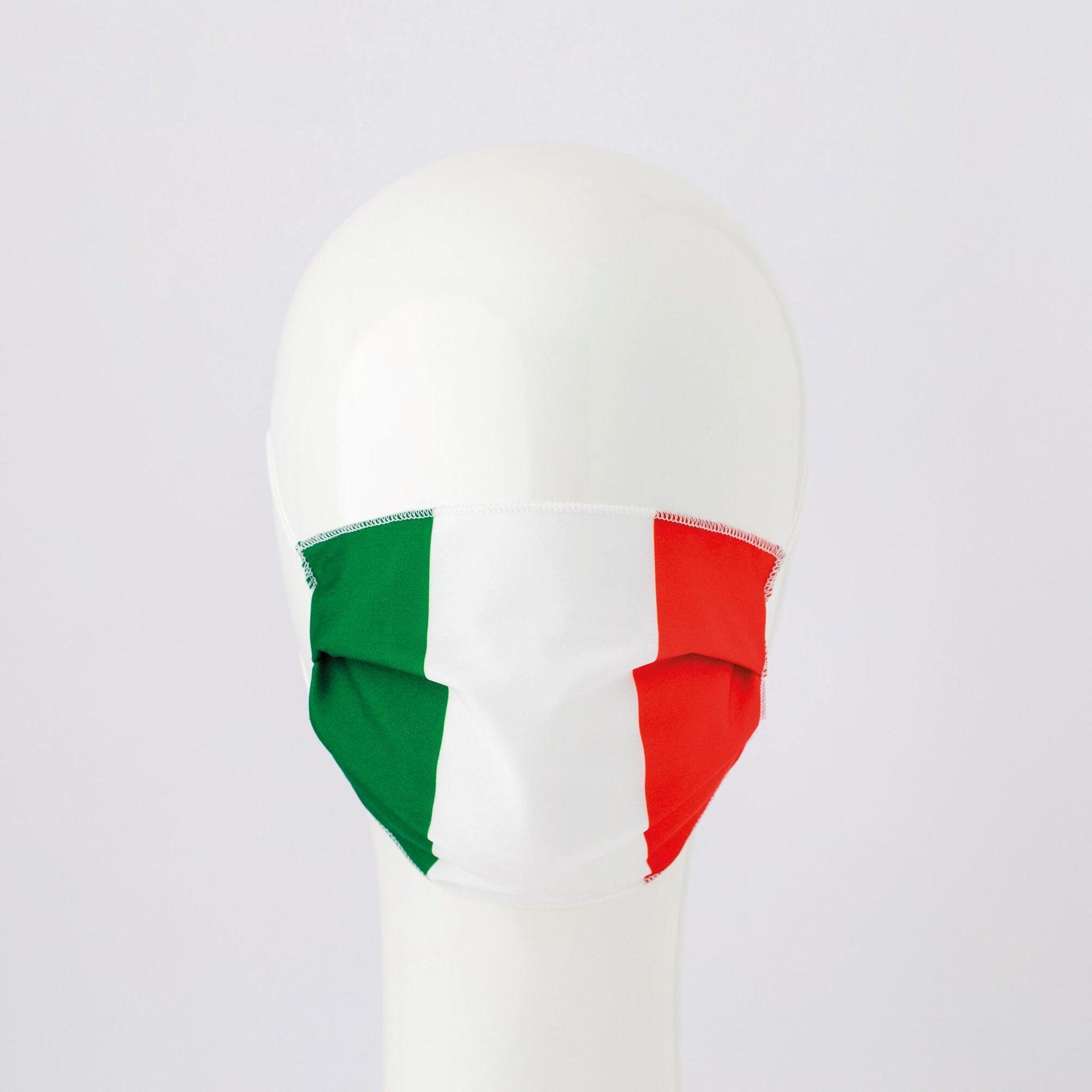 Maschera in tessuto lavabile per utilizzo non sanitario Tricolore - 1