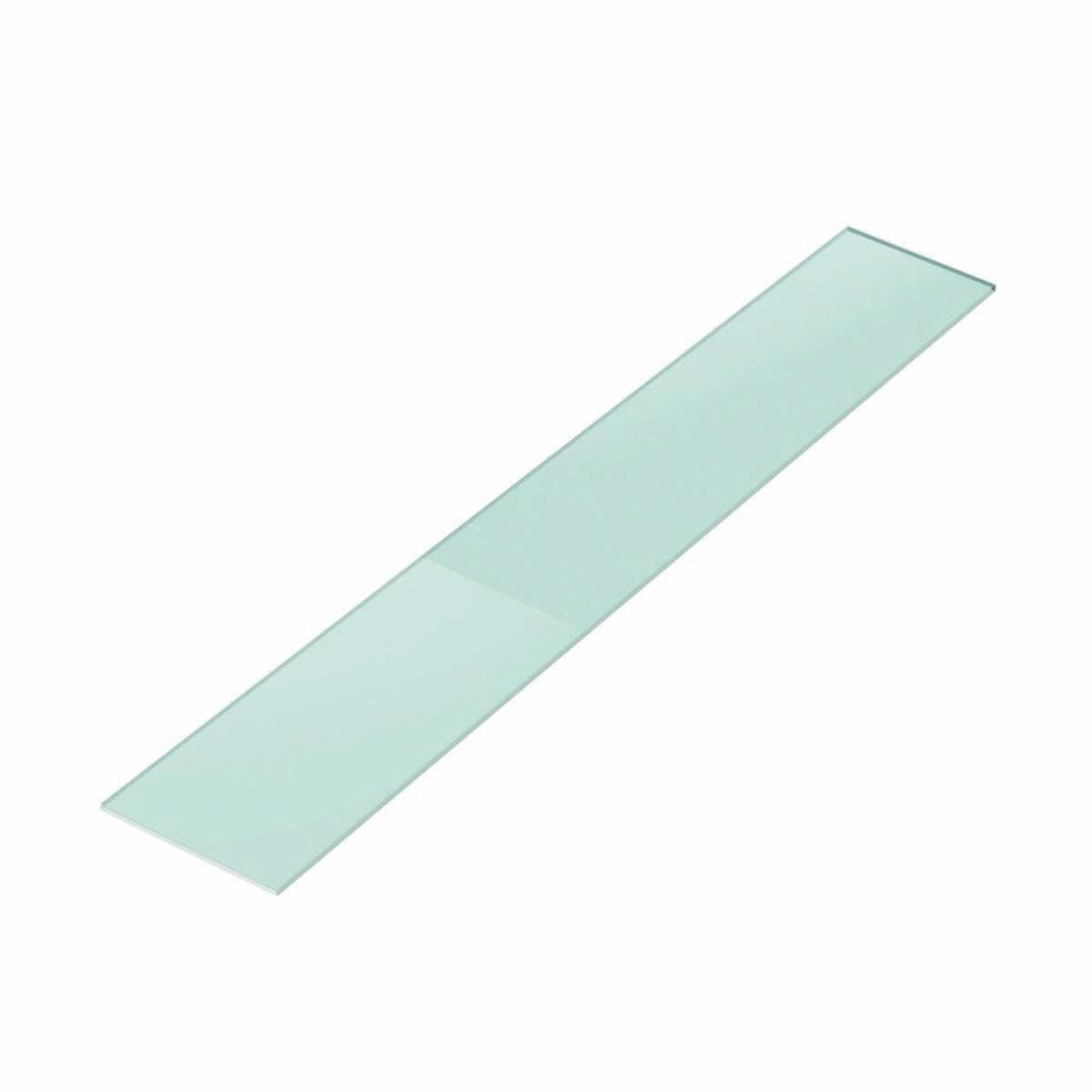 Vetro ripiano trasparente L 30 x H 160 cm, Sp 10 mm