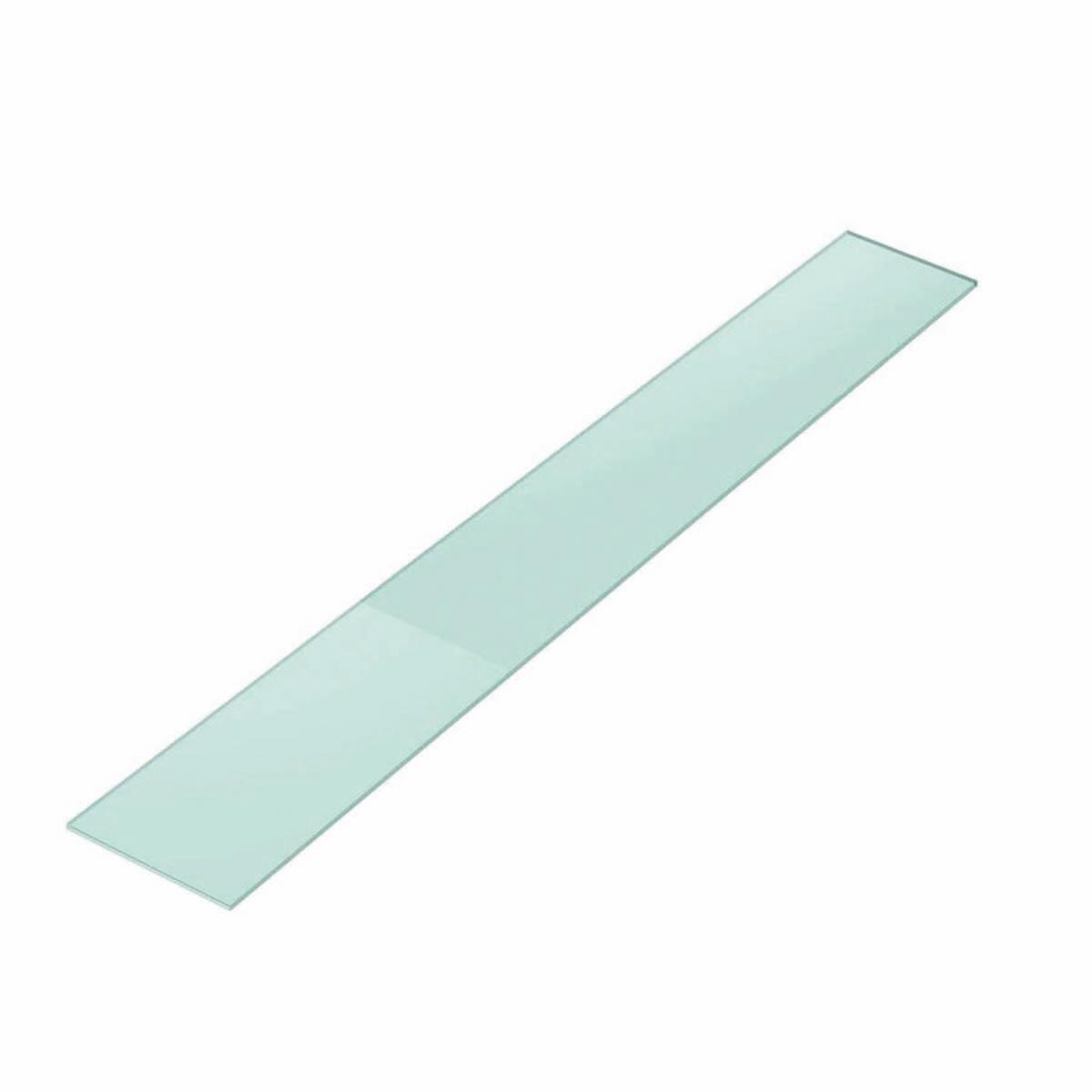 Vetro ripiano trasparente L 30 x H 200 cm, Sp 10 mm