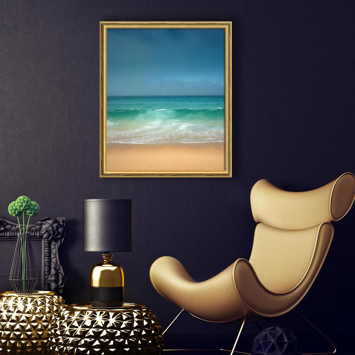 Cornice INSPIRE Beta oro<multisep/>rosso per foto da 30x45 cm - 2