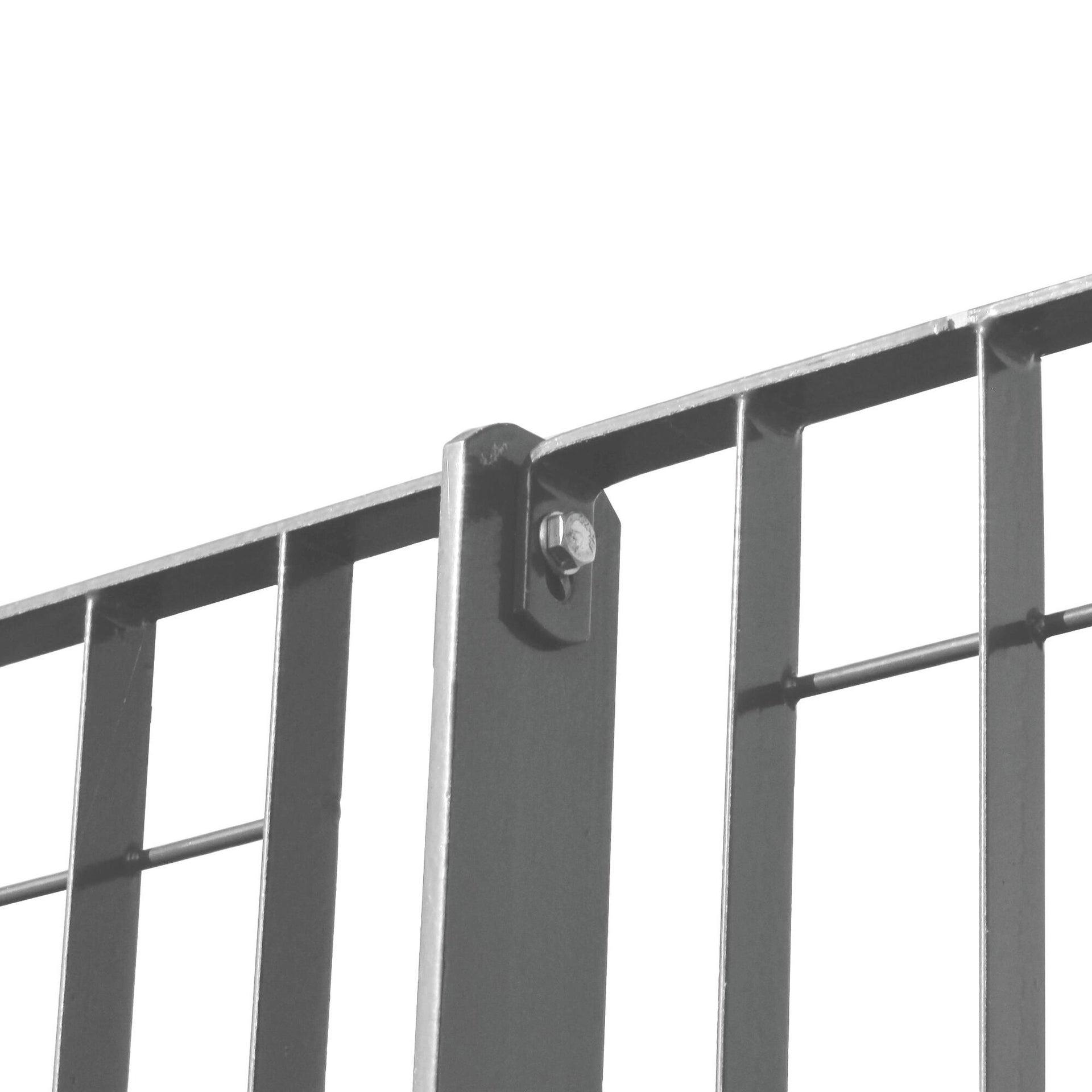 Recinzione grigliato orsogrill in acciaio L 200 x H 146 x P 2.5 cm - 1