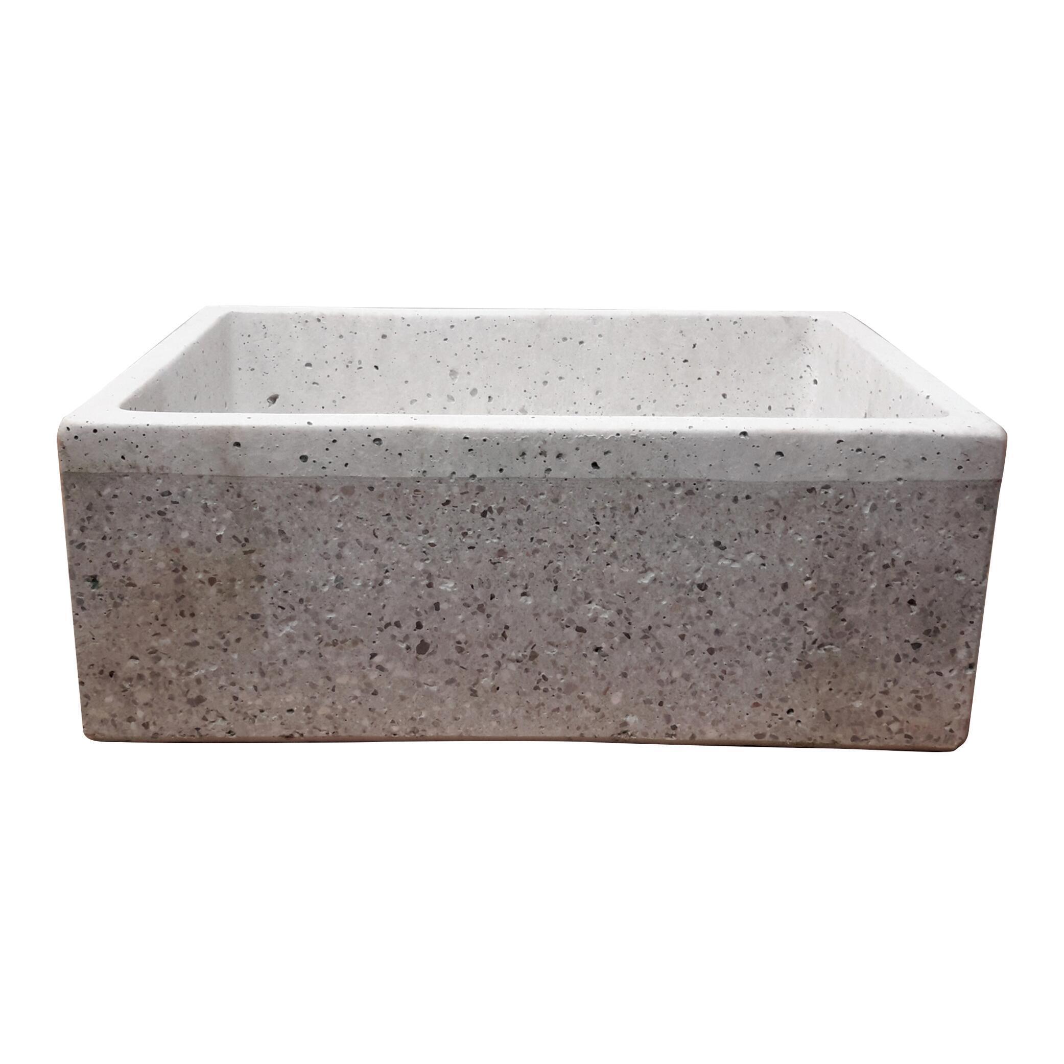 Lavabo Da Giardino In Cemento H 20 Cm 47 X 36 Cm Leroy Merlin