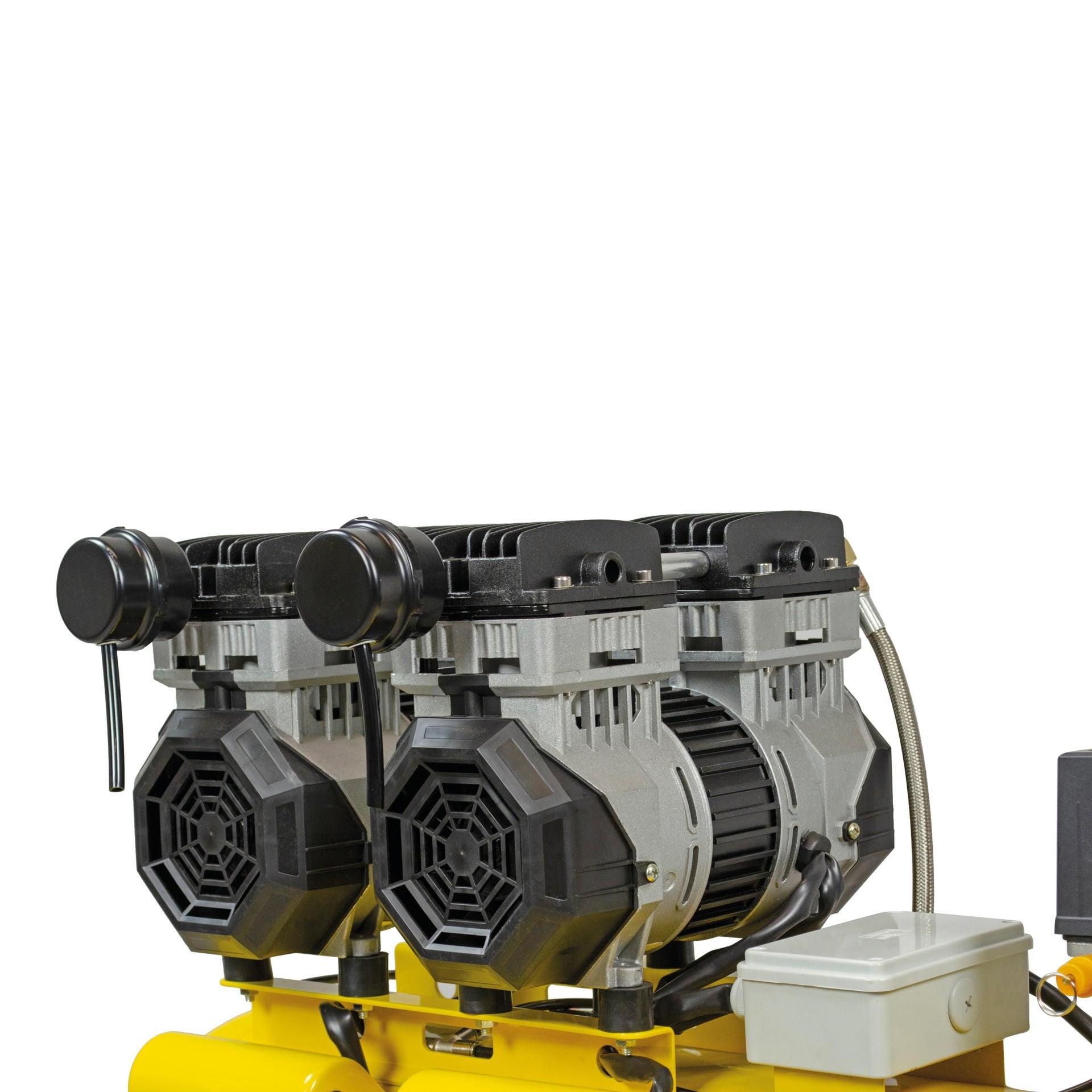 Compressore silenziato STANLEY SXCMS2652HE, 2.6 hp, 8 bar, 50 litri - 5