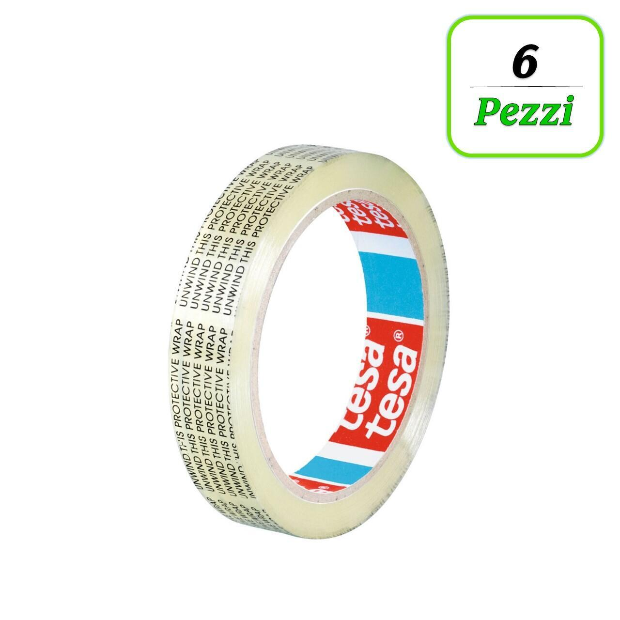 Nastro bi-adesivo TESA tesafilm® Biadesivo 33 m x 19 mm trasparente - 1