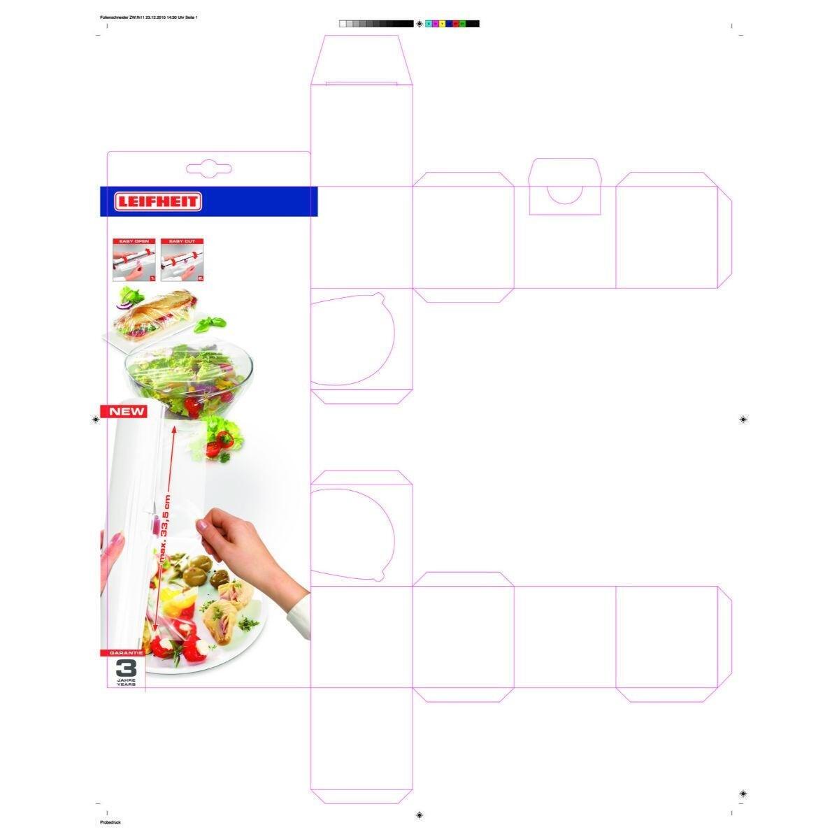 Dispenser per pellicola d'appoggio Perfect Cut in plastica - 4