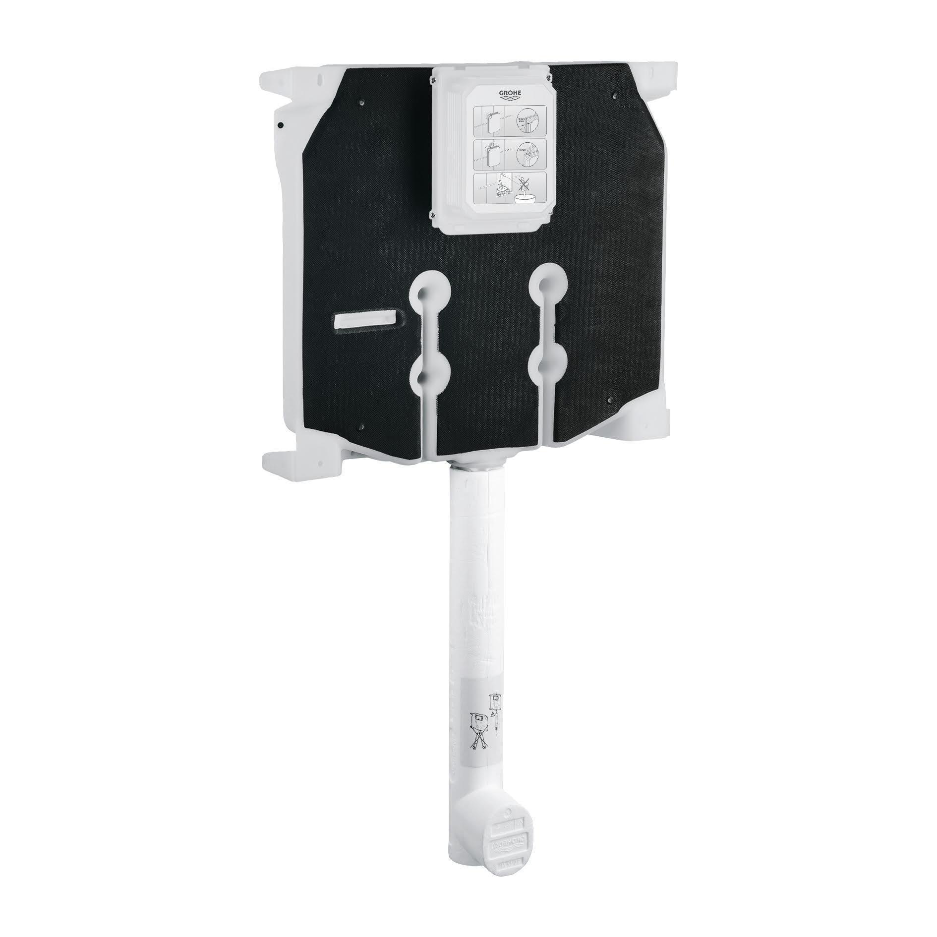 Cassetta wc a incasso GROHE pulsante doppio comando 9 L - 2