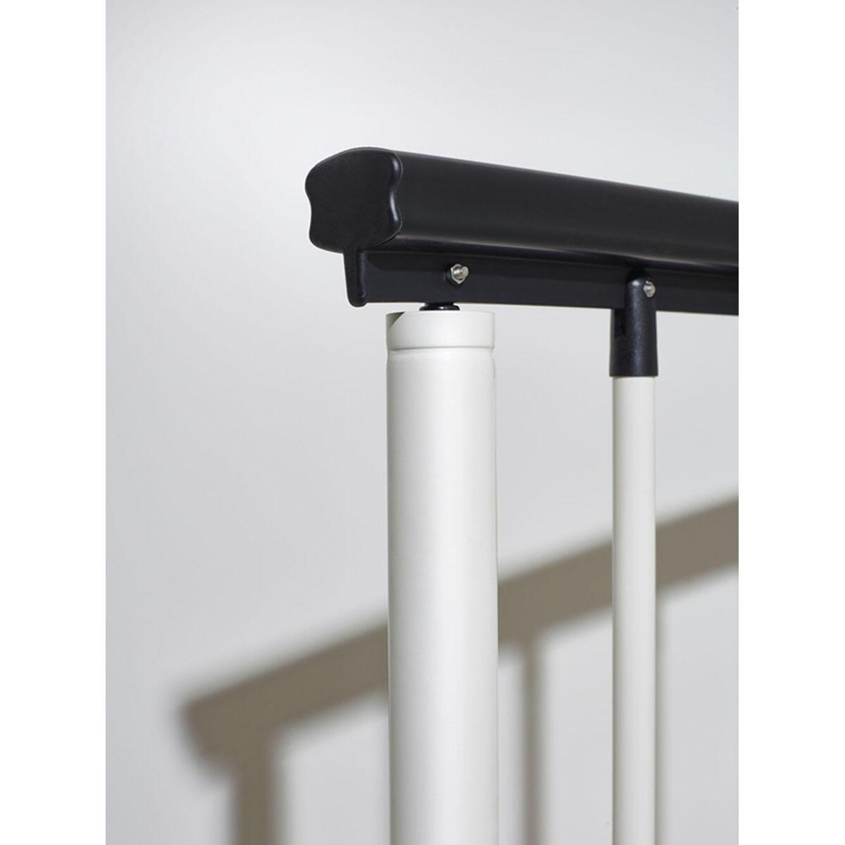 Scala a chiocciola tonda Lucia FONTANOT L 120 cm, gradino bianco, struttura bianco - 5