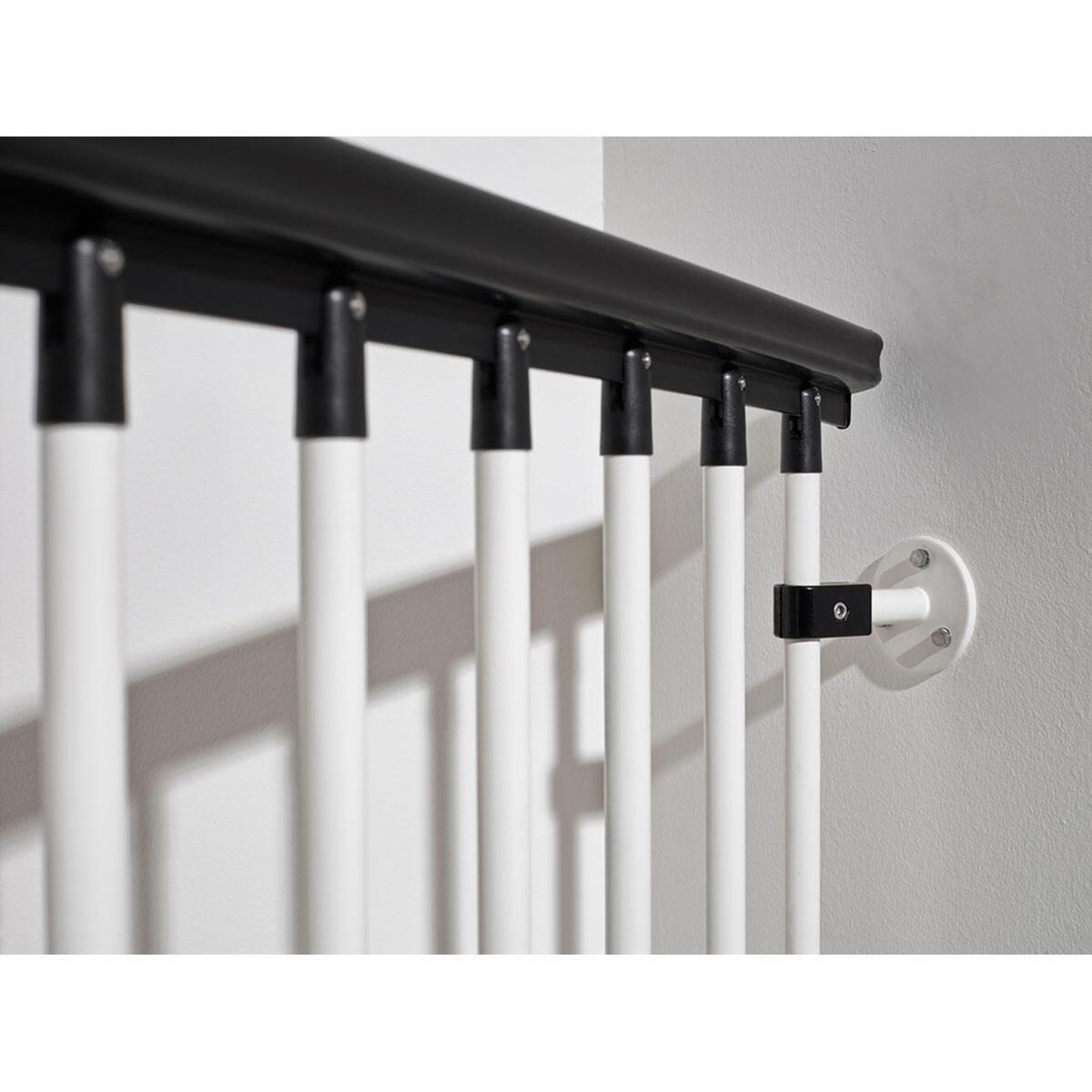 Scala a chiocciola tonda Lucia FONTANOT L 160 cm, gradino bianco, struttura bianco - 2