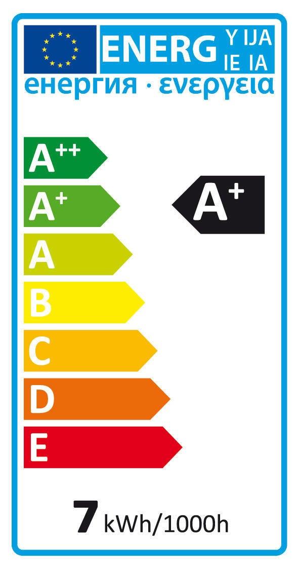 Lampadina smart lighting LED filamento, E27, Goccia, Fumé, Luce calda, 7W=600LM (equiv 7 W), 360° - 4