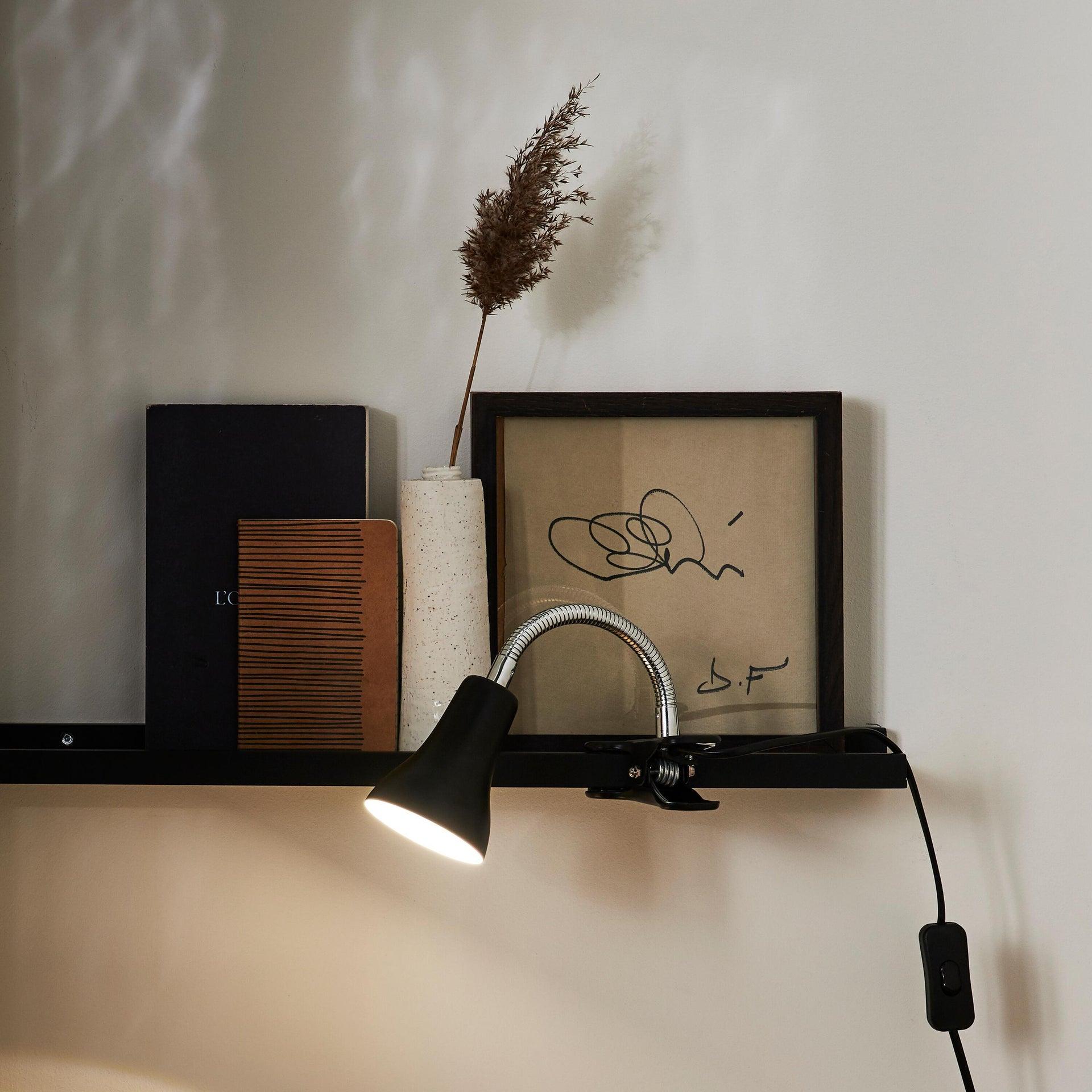 Lampada da scrivania Moderno Salta nero , in metallo, INSPIRE - 1