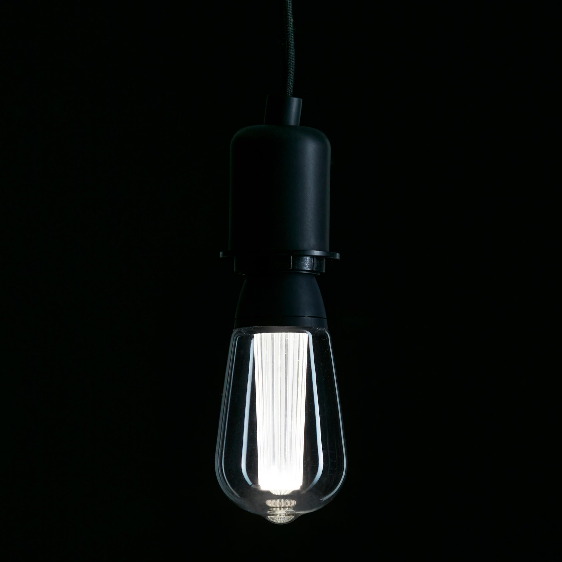 Lampadina LED, E27, Goccia, Trasparente, CCT, 6W=470LM (equiv 40 W), 150° , LEXMAN - 8
