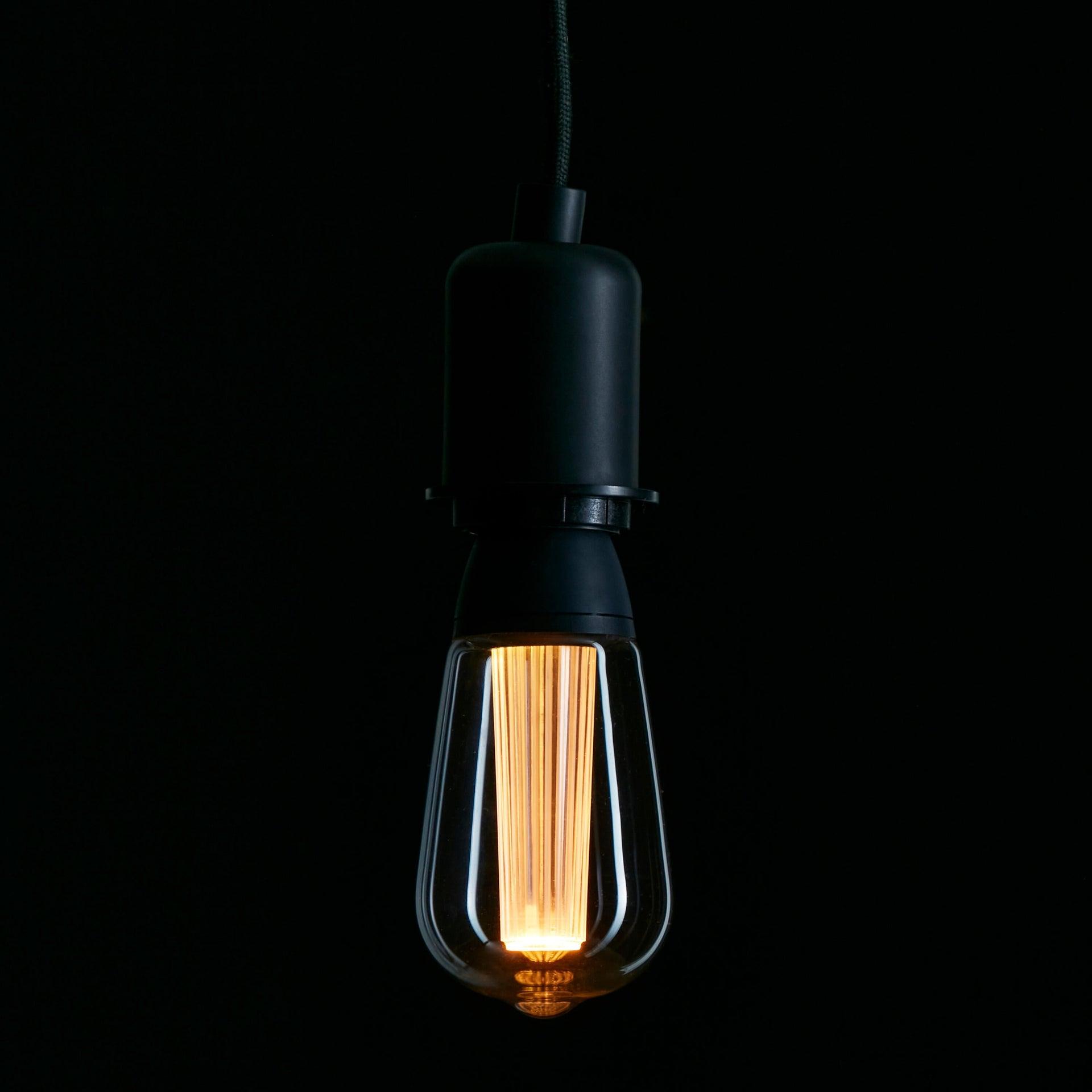 Lampadina LED, E27, Goccia, Trasparente, CCT, 6W=470LM (equiv 40 W), 150° , LEXMAN - 3