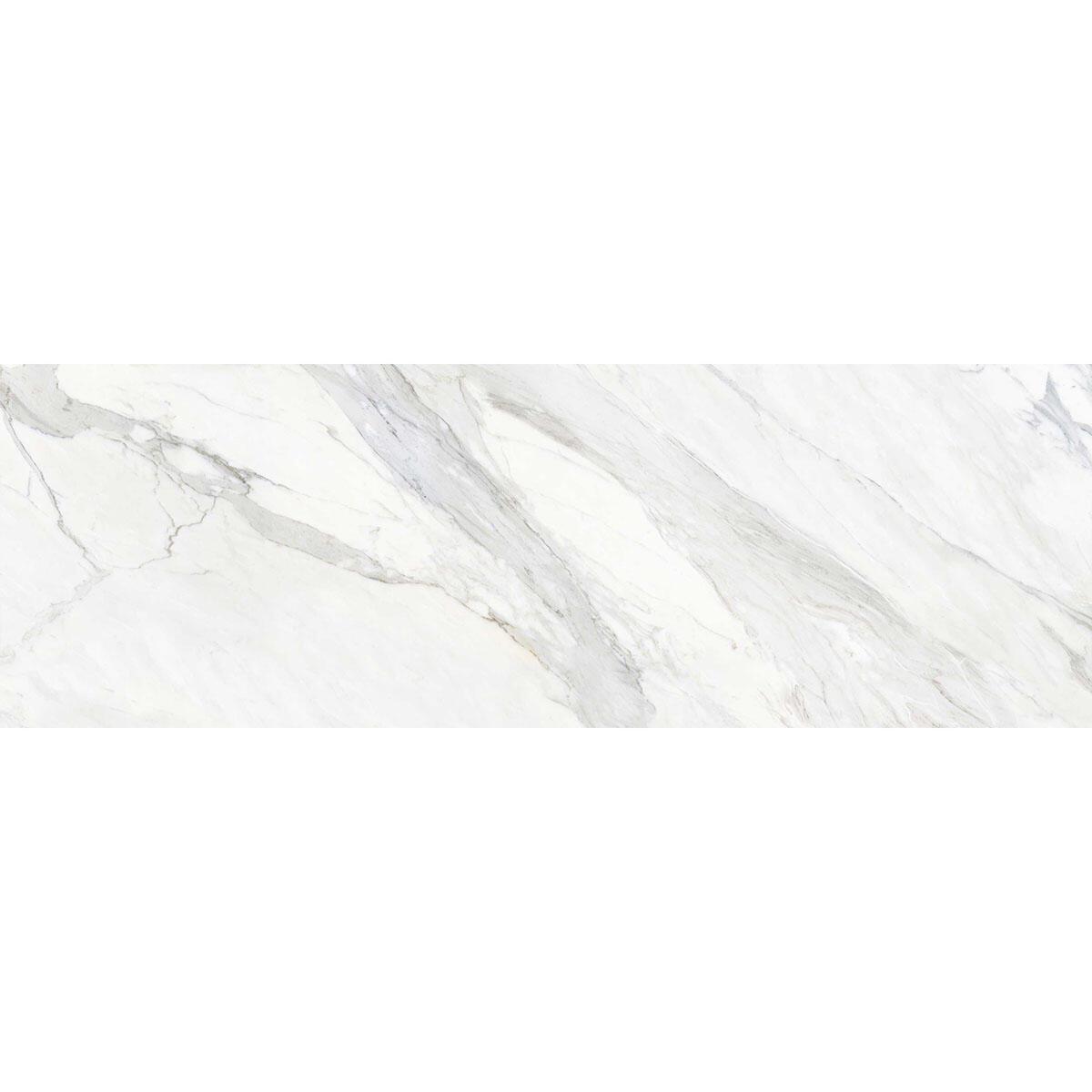 Piastrella Calacata 100 x 300 cm sp. 5.6 mm PEI 3/5 bianco - 2