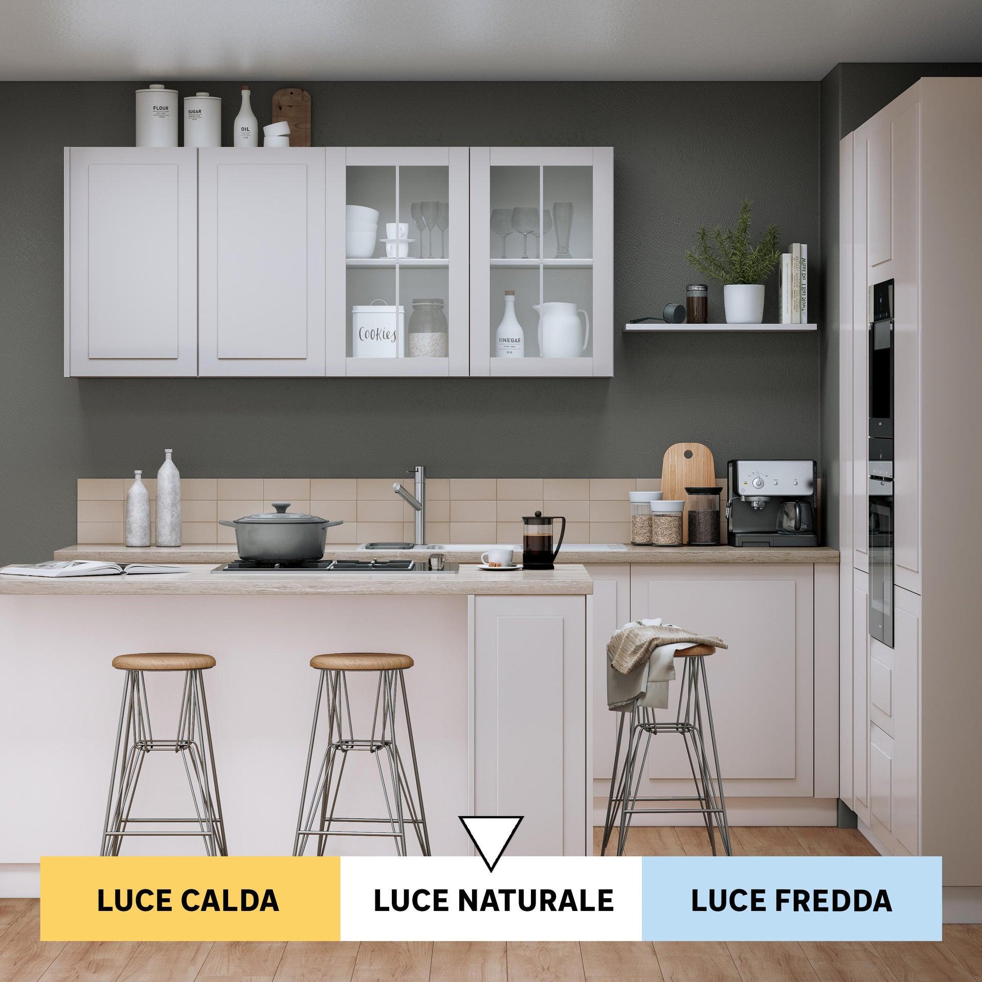 Lampadina LED, GU10, Faretto, Smerigliato, Luce naturale, 4W=340LM (equiv 35 W), 100° , LEXMAN - 4