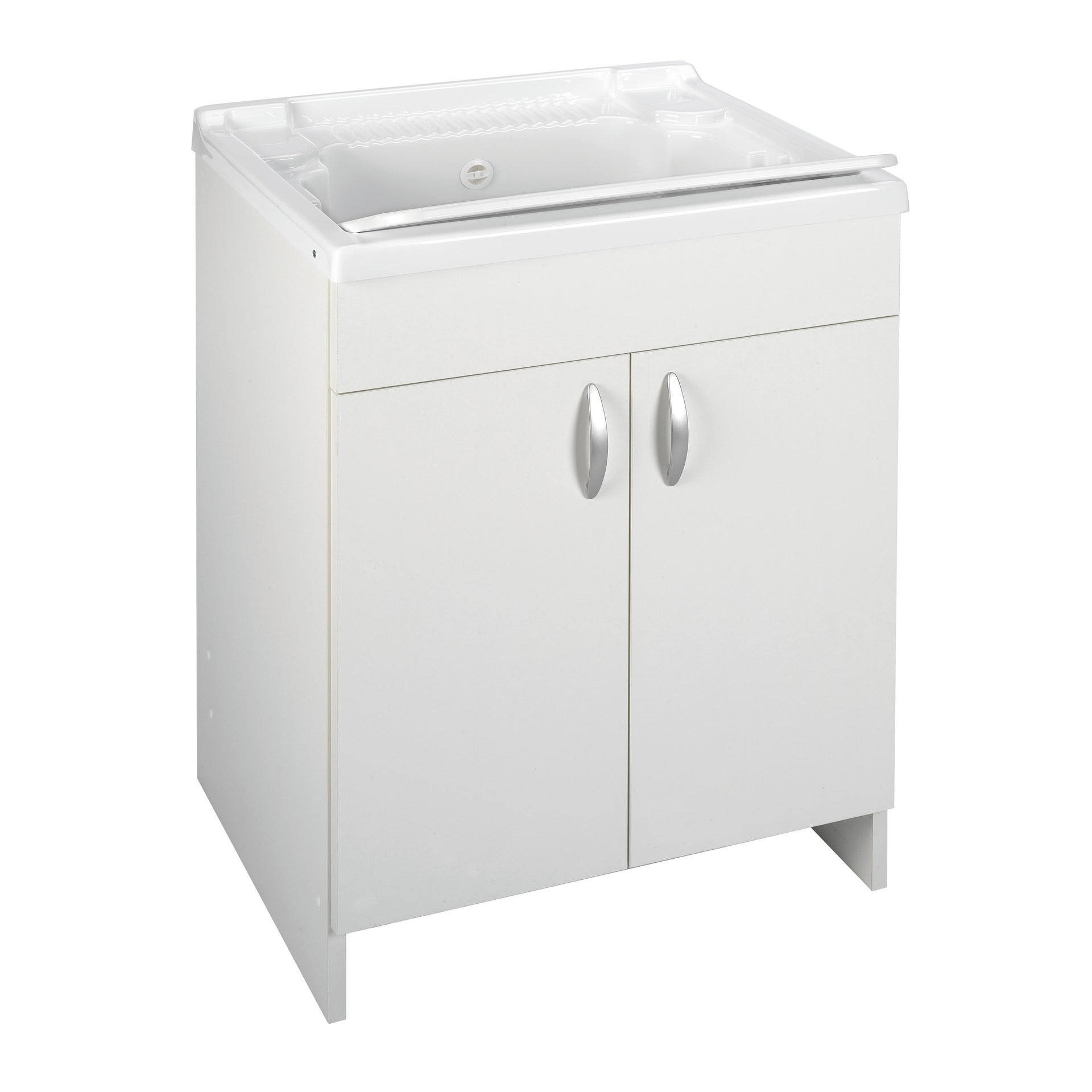 Mobile lavanderia Prix bianco L 59.2 x P 50.5 x H 84 cm - 3