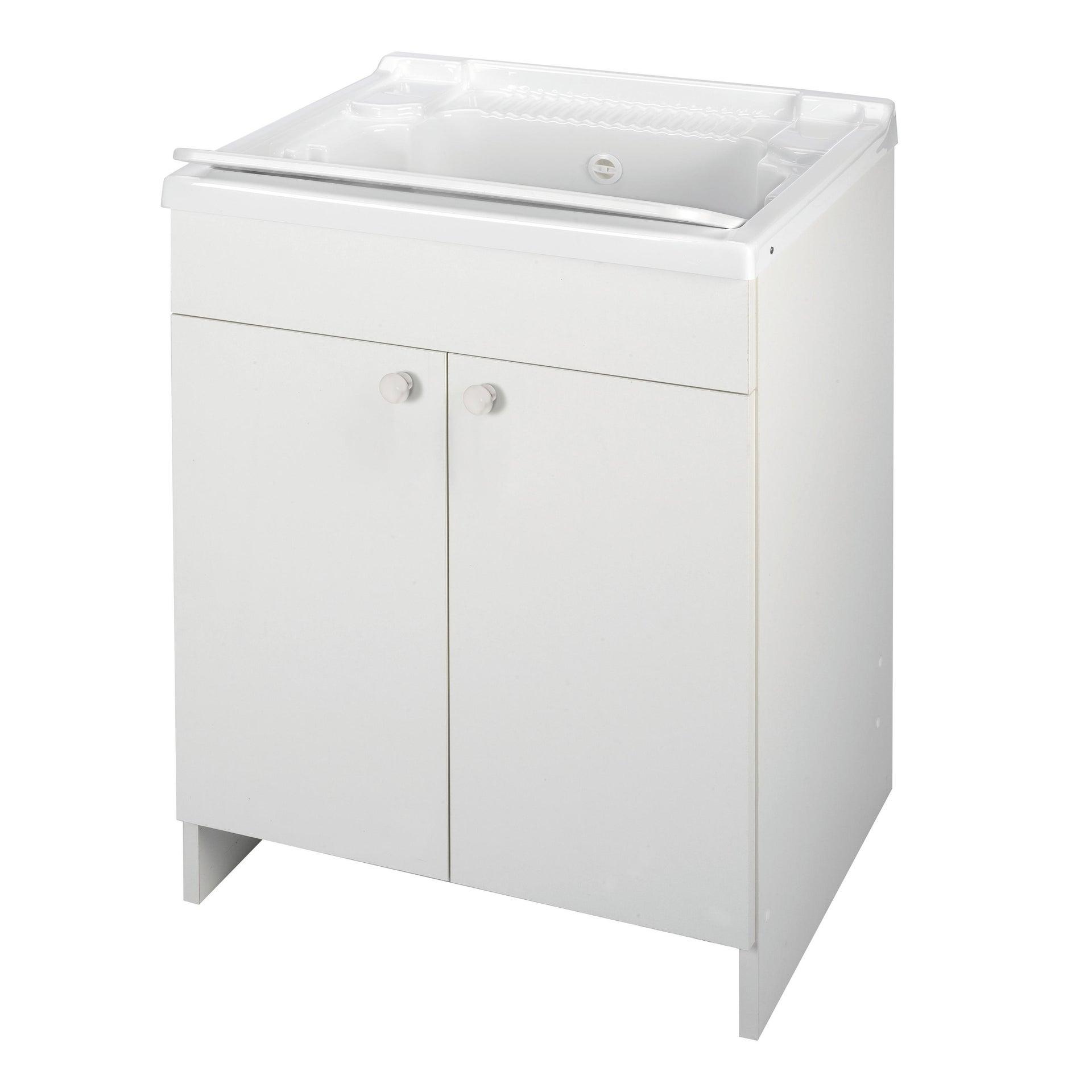 Mobile lavanderia Prix bianco L 59.2 x P 50.5 x H 84 cm - 4