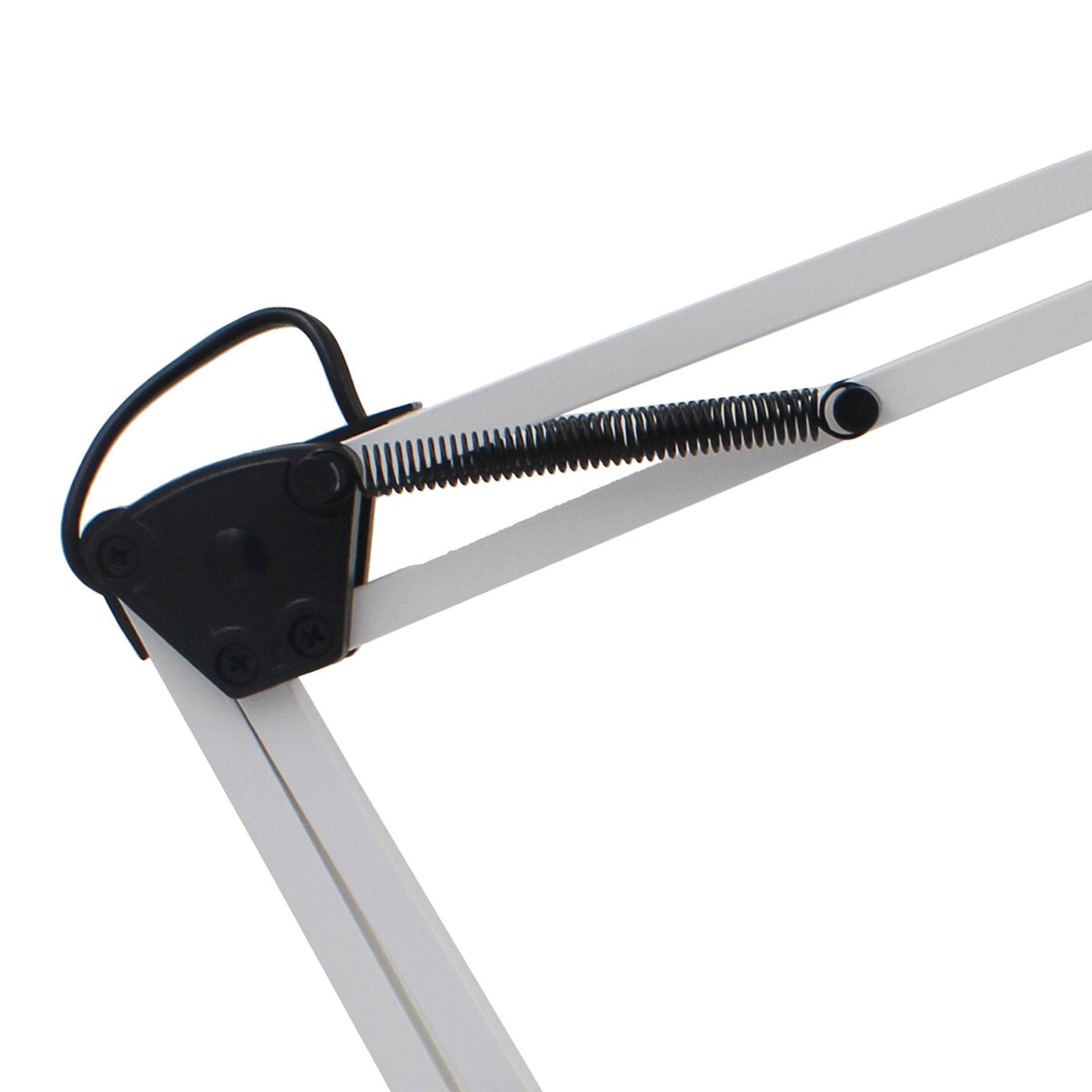 Lampada da scrivania Industriale Ennis bianco , in metallo, INSPIRE - 8