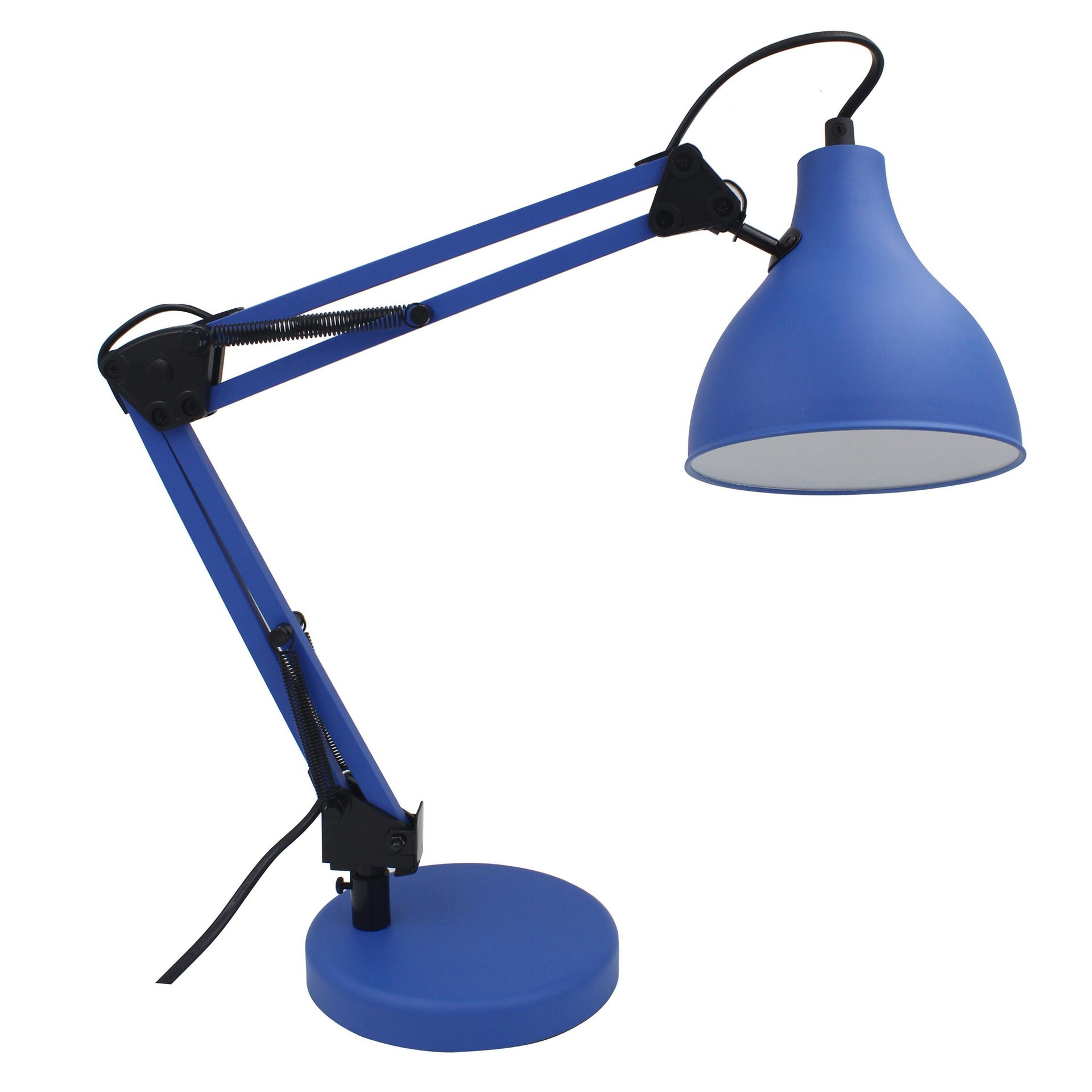 Lampada da scrivania Pop Ennis blu , in metallo, INSPIRE - 7