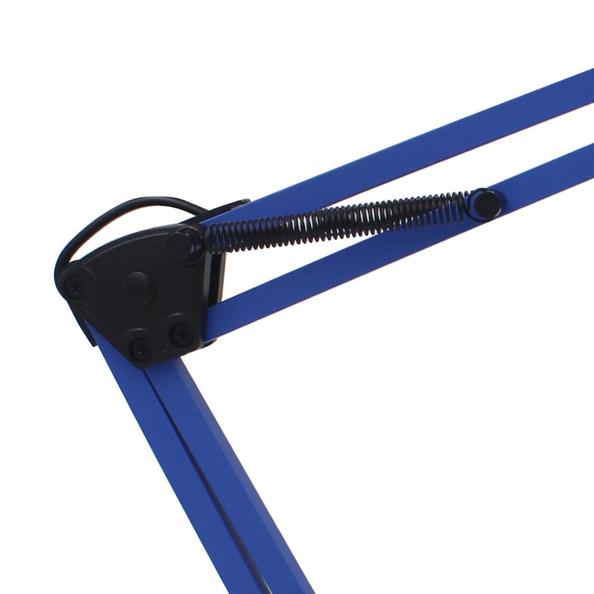 Lampada da scrivania Pop Ennis blu , in metallo, INSPIRE - 2