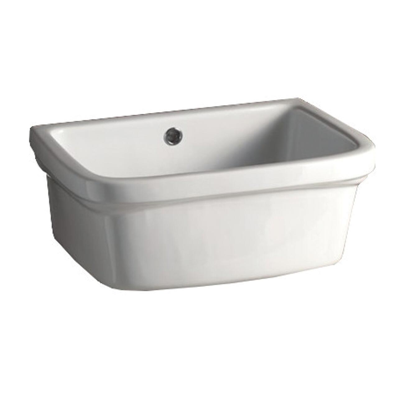 Lavatoio Per Bucato Basin Ceramic 48 X 25 X 40 Cm Leroy Merlin