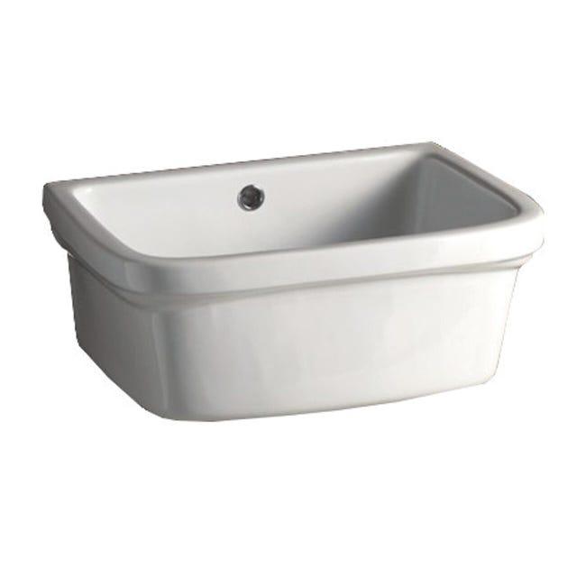 Lavatoio per bucato Basin Ceramic 48 x 25 x 40 cm - 1