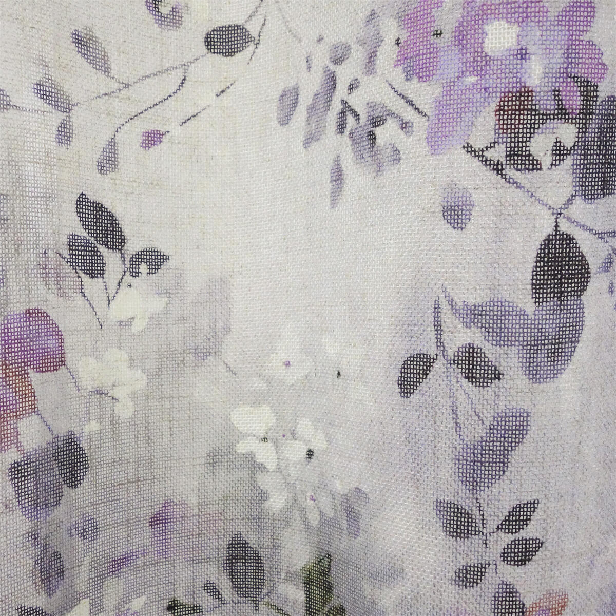 Tenda Romane viola occhielli 140 x 280 cm - 2