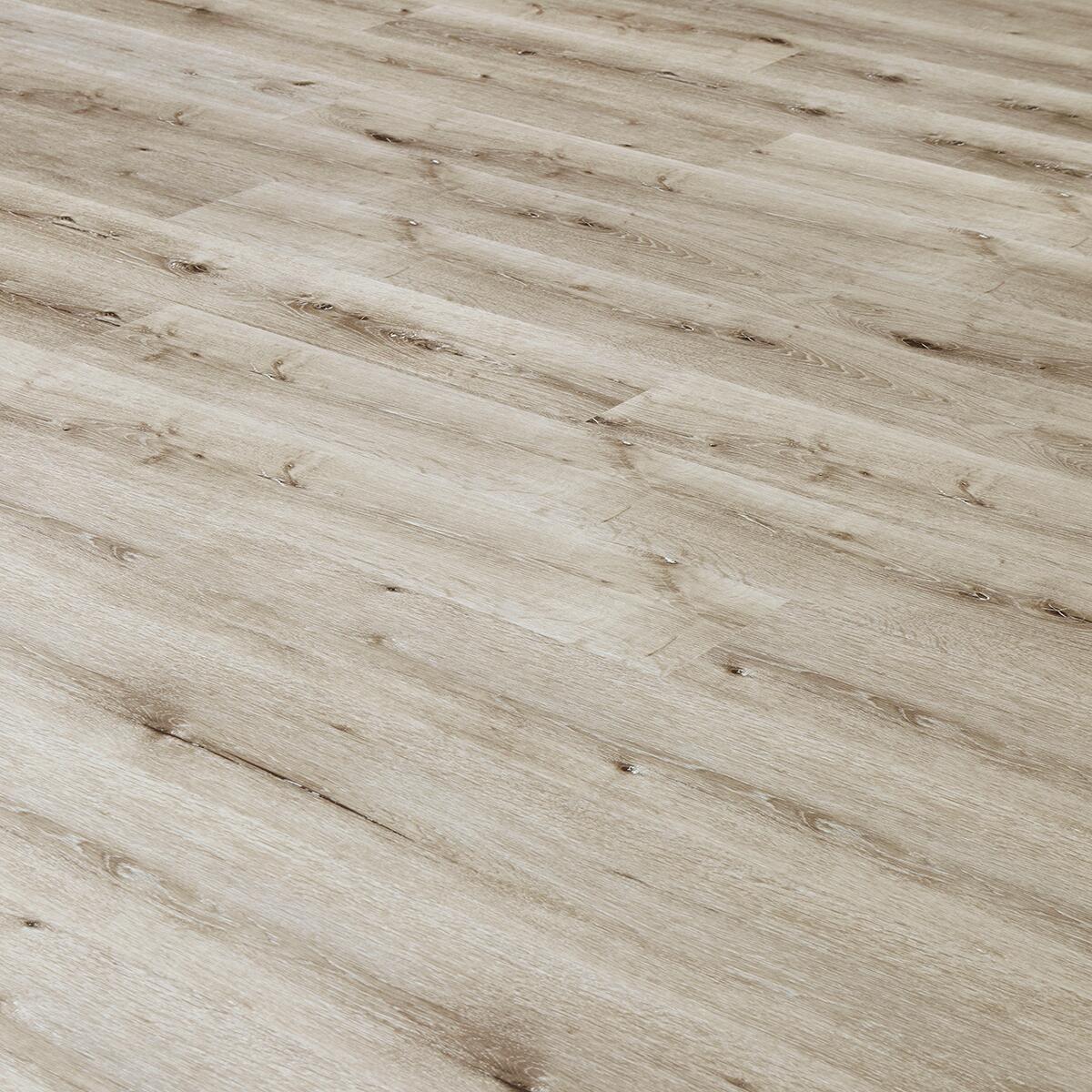 Pavimento SPC flottante clic+ Cannes Sp 4.5 mm grigio / argento - 2