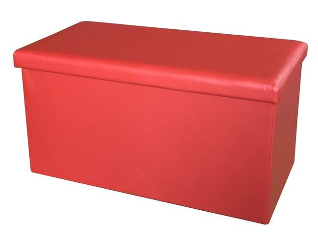 Baule L 77 x H 5 x P 40 cm Rosso - 1