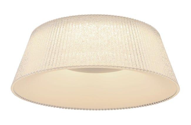 Plafoniera Crotone LED integrato trasparente, in acrilico, - 1
