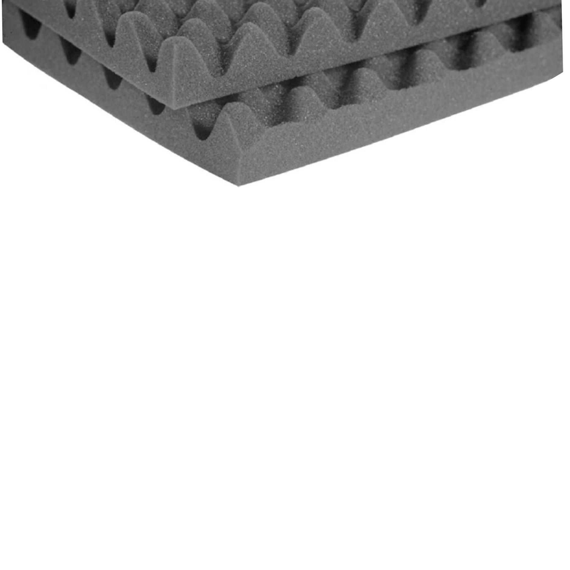 Pannello fonoassorbente bugnato 1 x 1 m, Sp 30 mm, 1 mq - 2