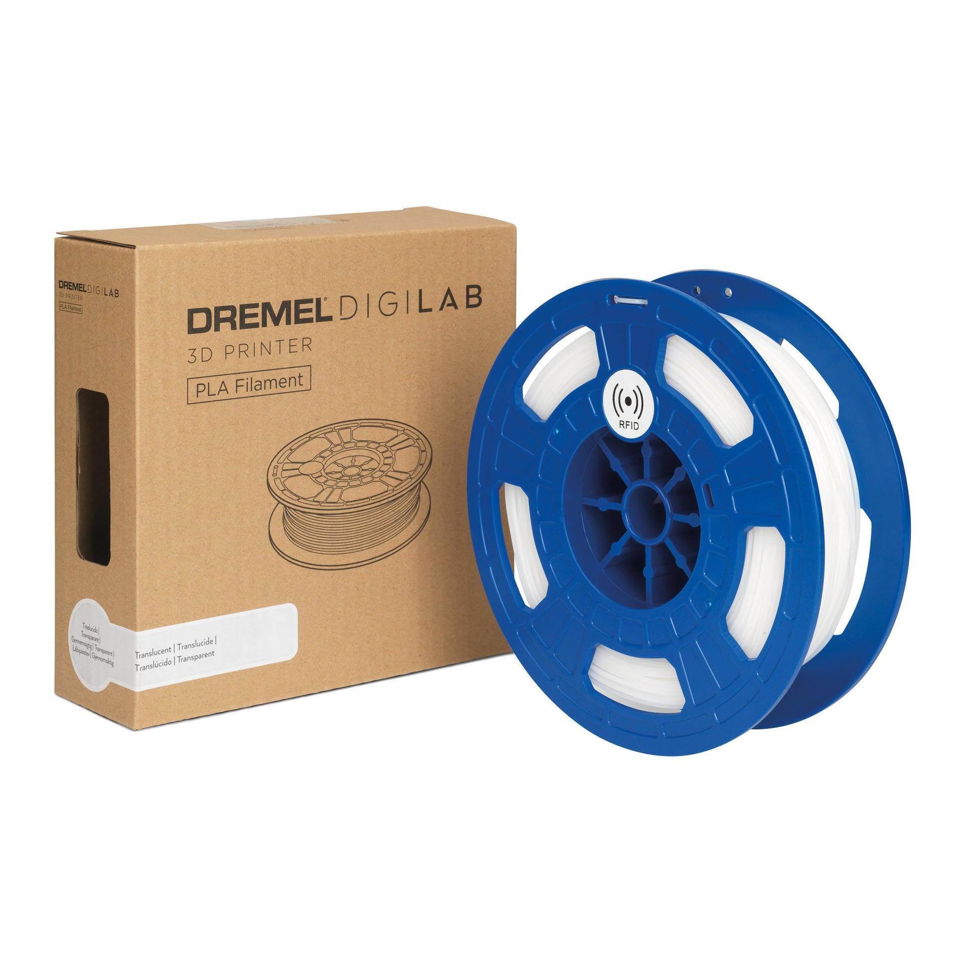 Bobina di filamento per stampante 3D DREMEL Filamento 3D Dremel PLA traslucido