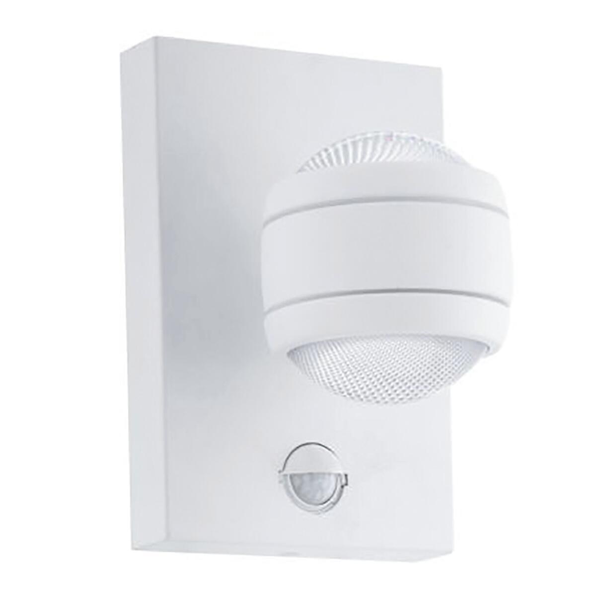 Applique Sesimba LED integrato in inox, bianco, 3.7W 560LM IP44 EGLO - 2
