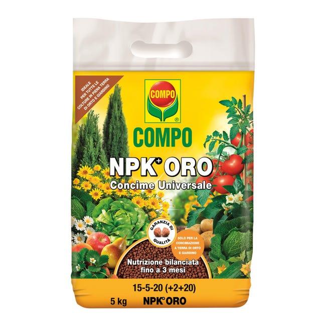 Concime granulare COMPO Npk oro 5 Kg - 1