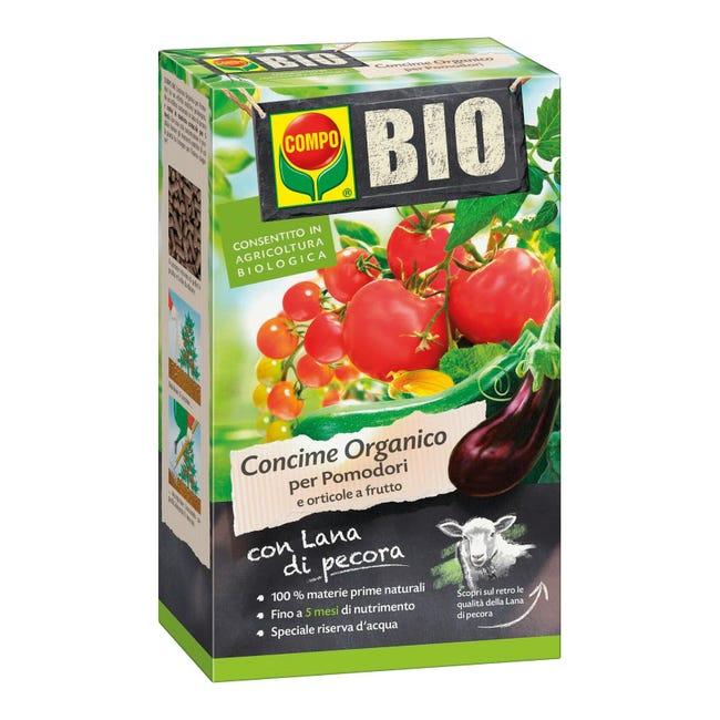 Concime organico granulare COMPO Bio per pomodori 750 Gr - 1
