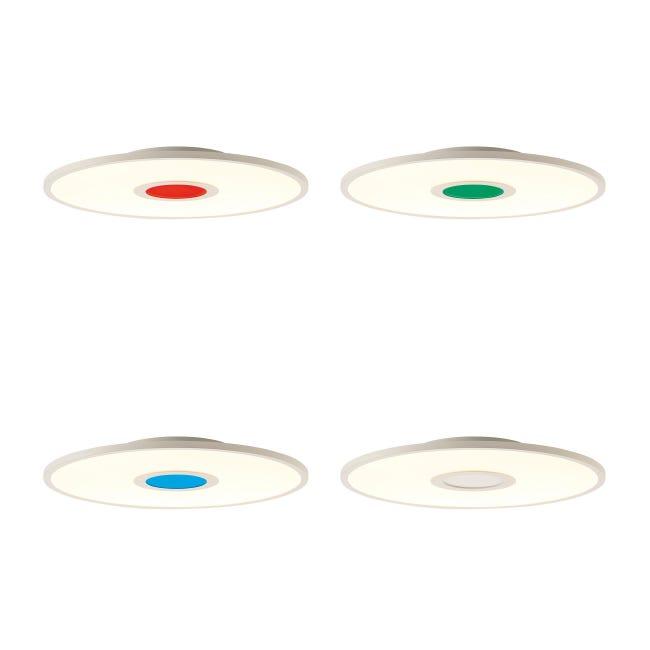 Pannello led Odella Ø 35 cm, cct regolazione da bianco caldo a bianco freddo, 2140LM - 1