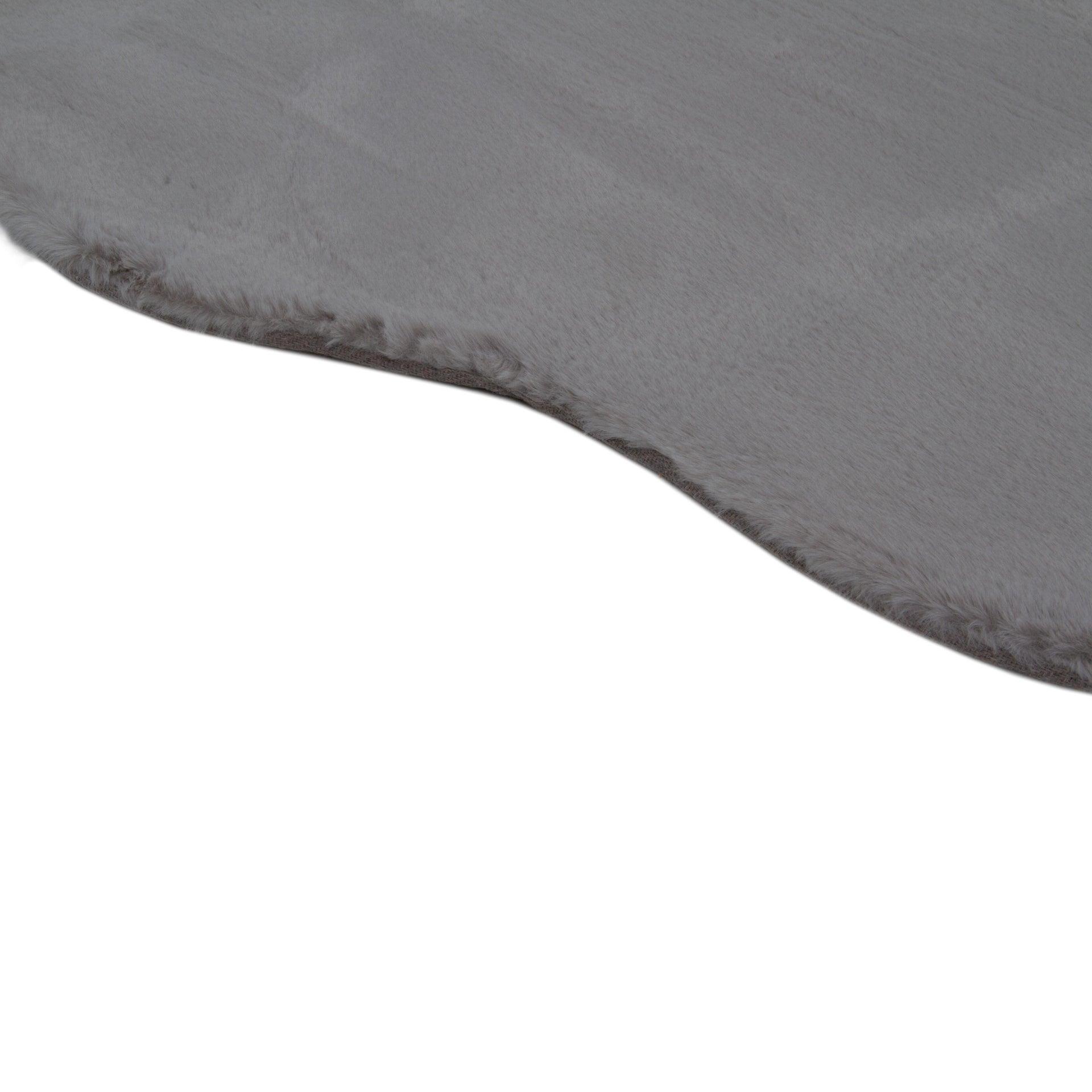 Tappeto Carezza , argento, 80x120 - 2