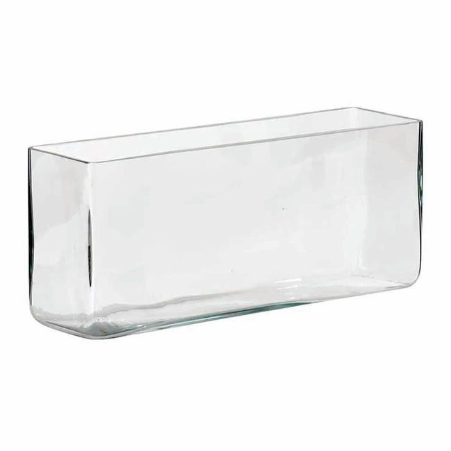 Vaso in vetro L 30 x H 30 cm - 1