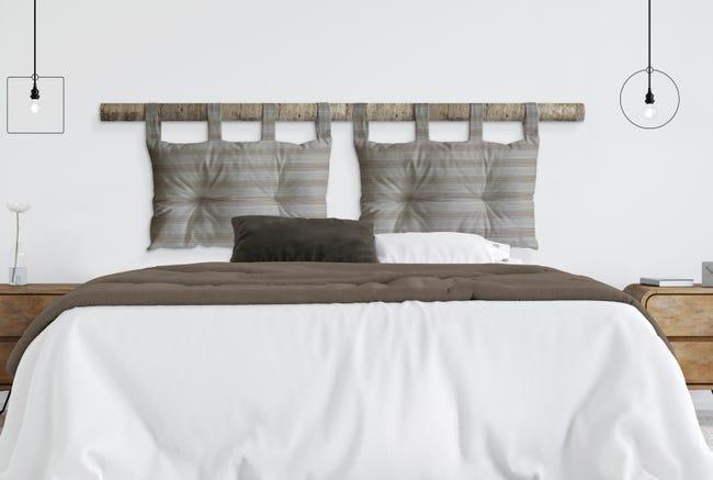 Cuscino testata letto RIGA ecru 45x70 cm - 1
