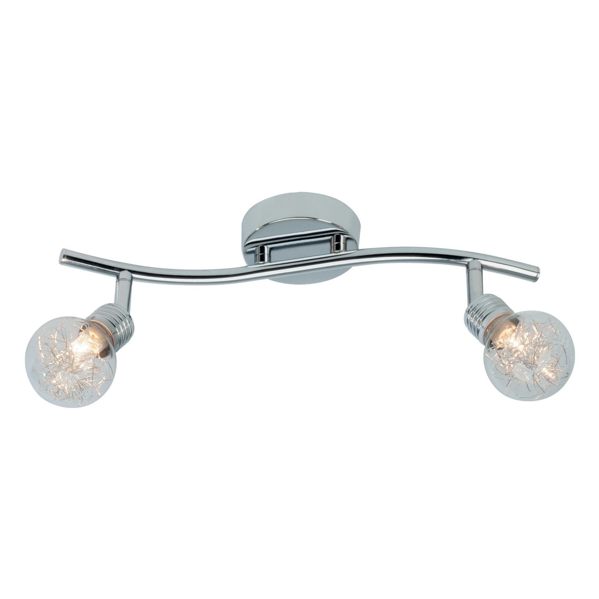 Barra di faretti Bulb cromo, in metallo, G9 2x33W IP20 BRILLIANT - 1