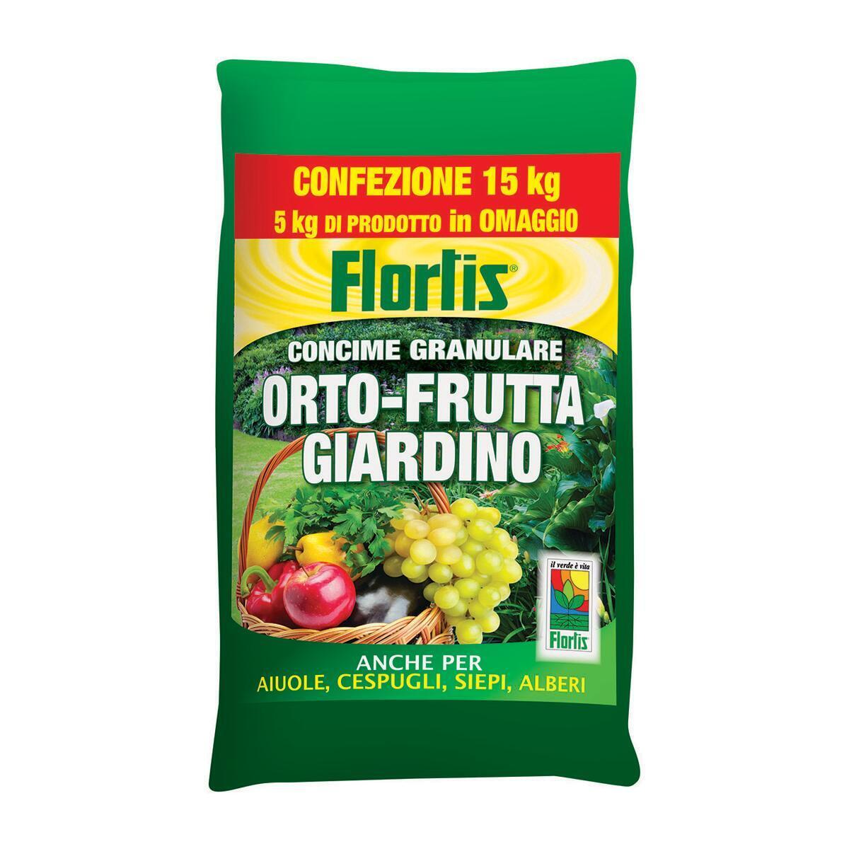 Concime granulare Orto Frutta 15 kg - 1