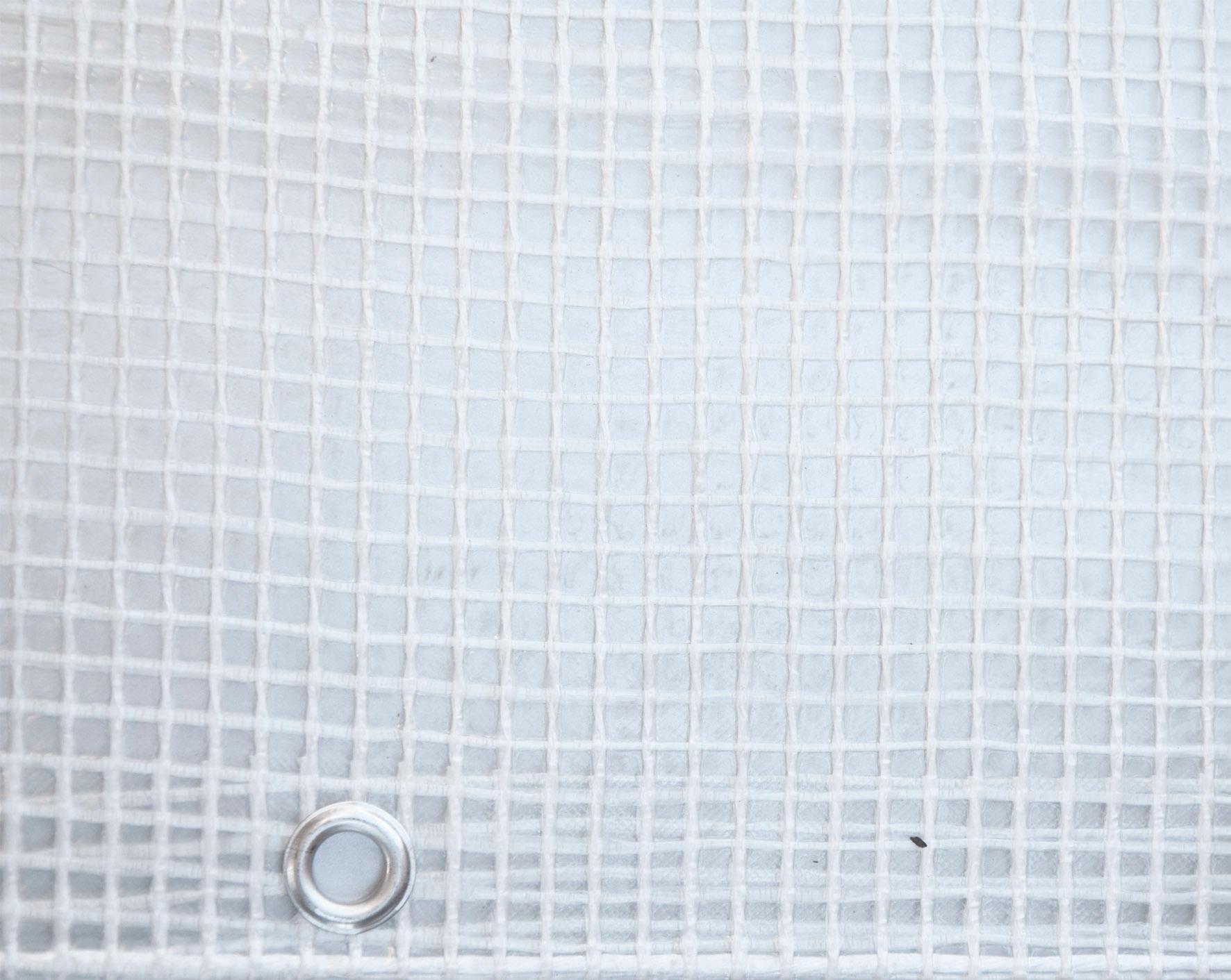 Telo protettivo in polietilene occhiellato retinato L 2 m x H 300 cm 150 g/m² - 4