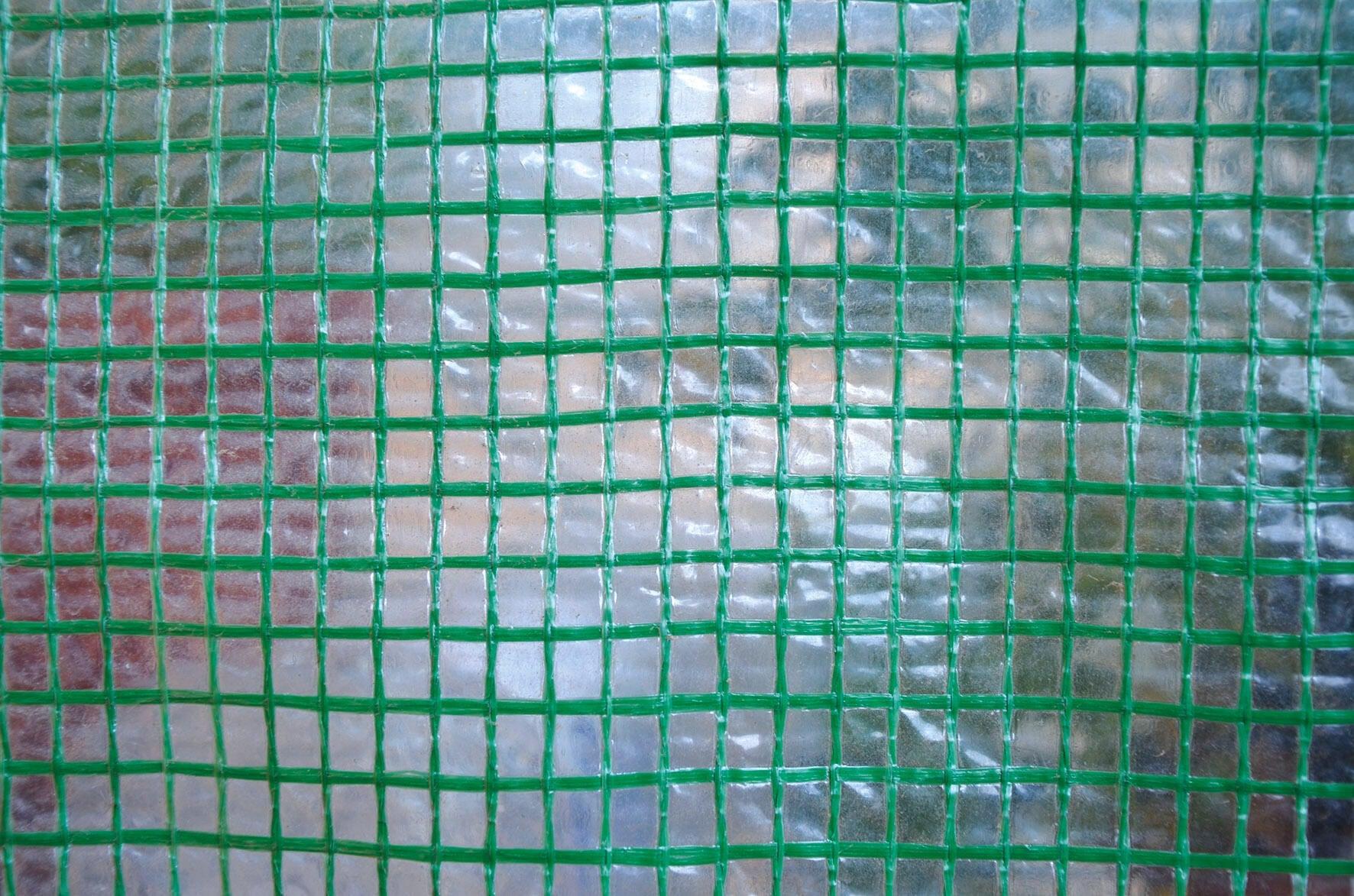 Telo protettivo in polietilene occhiellato L 50 m x H 200 cm 150 g/m²