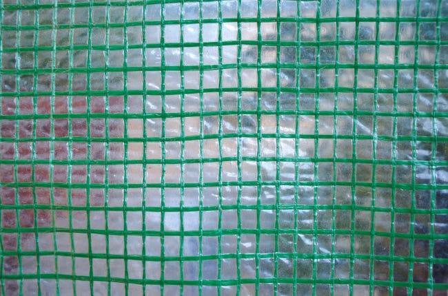 Telo protettivo in polietilene occhiellato L 50 m x H 200 cm 150 g/m² - 1