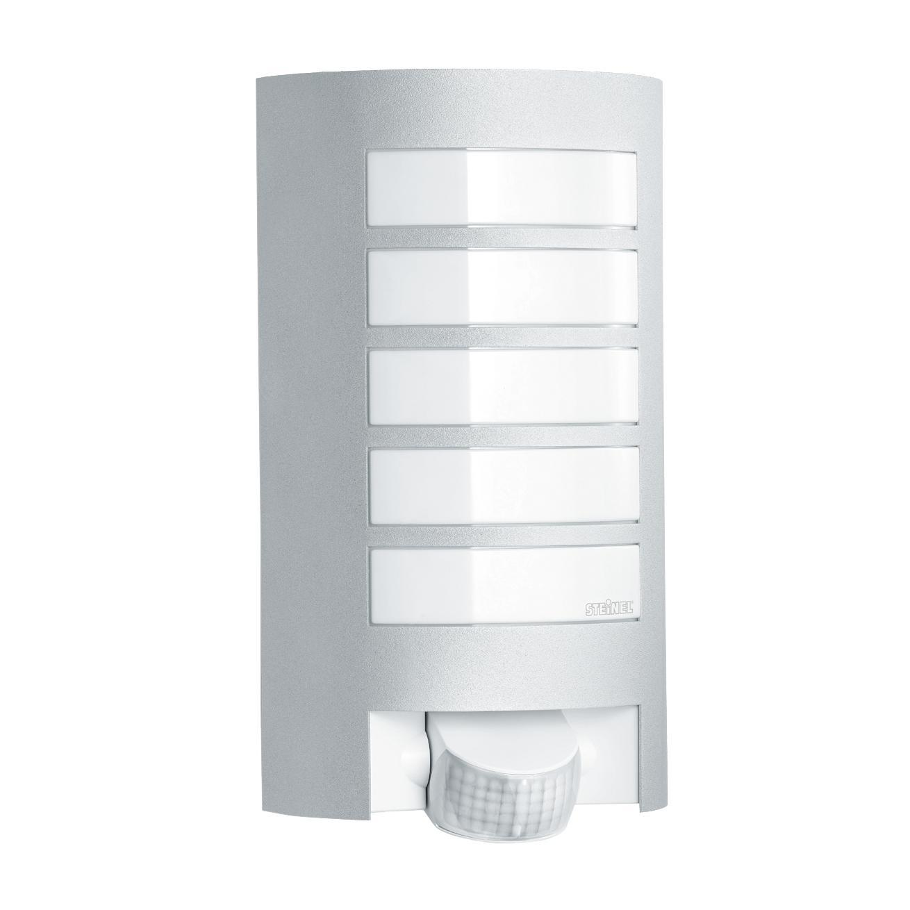 Applique L12 con sensore di movimento, in alluminio, grigio, E27 MAX60W IP44 STEINEL - 3