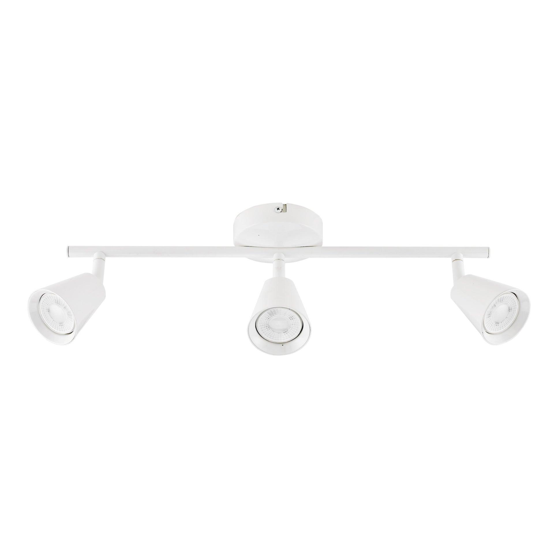 Barra di faretti Chapo bianco, in metallo, LED integrato 3.5W 840LM IP20 INSPIRE - 5