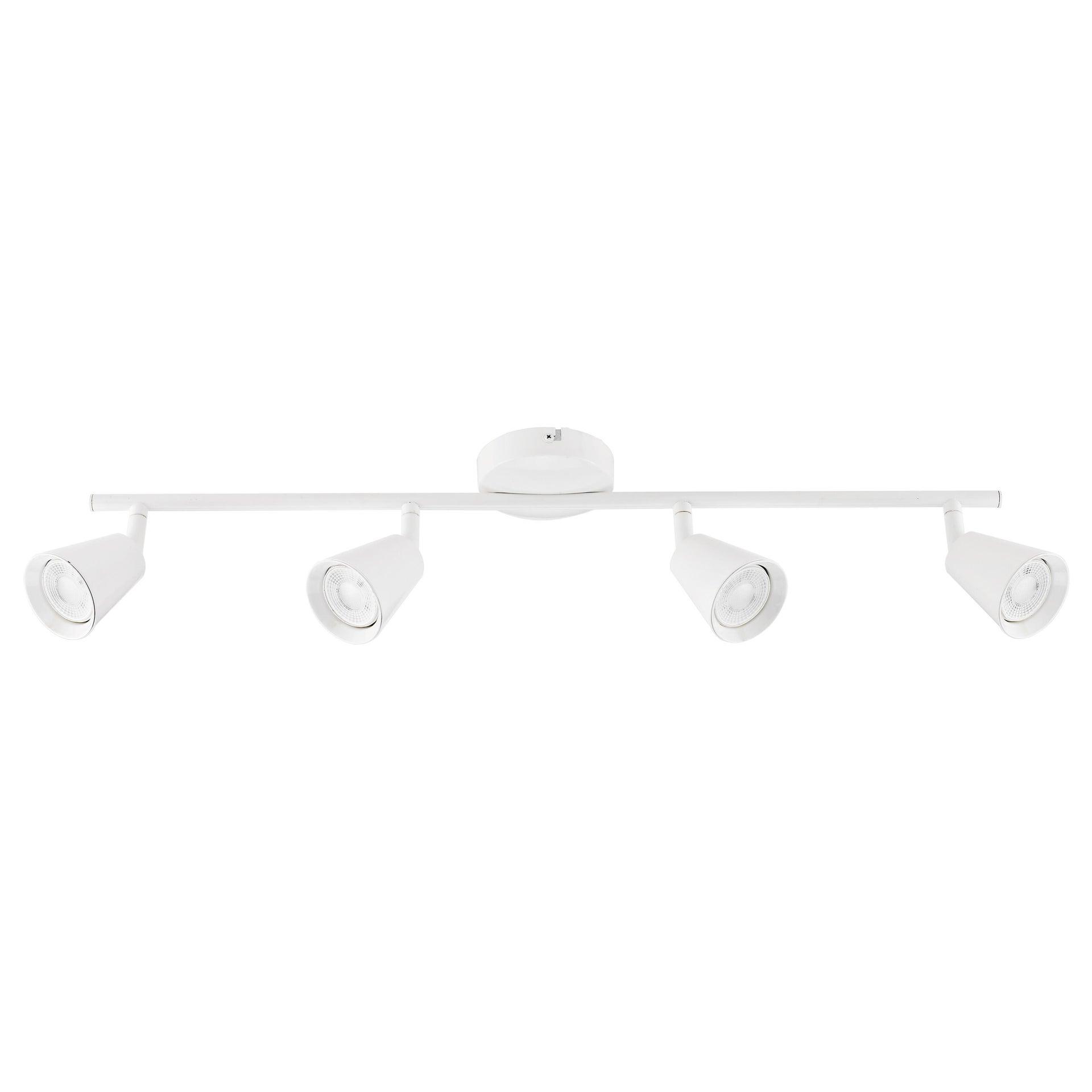 Barra di faretti Chapo bianco, in metallo, LED integrato 3.5W 1120LM IP20 INSPIRE - 1