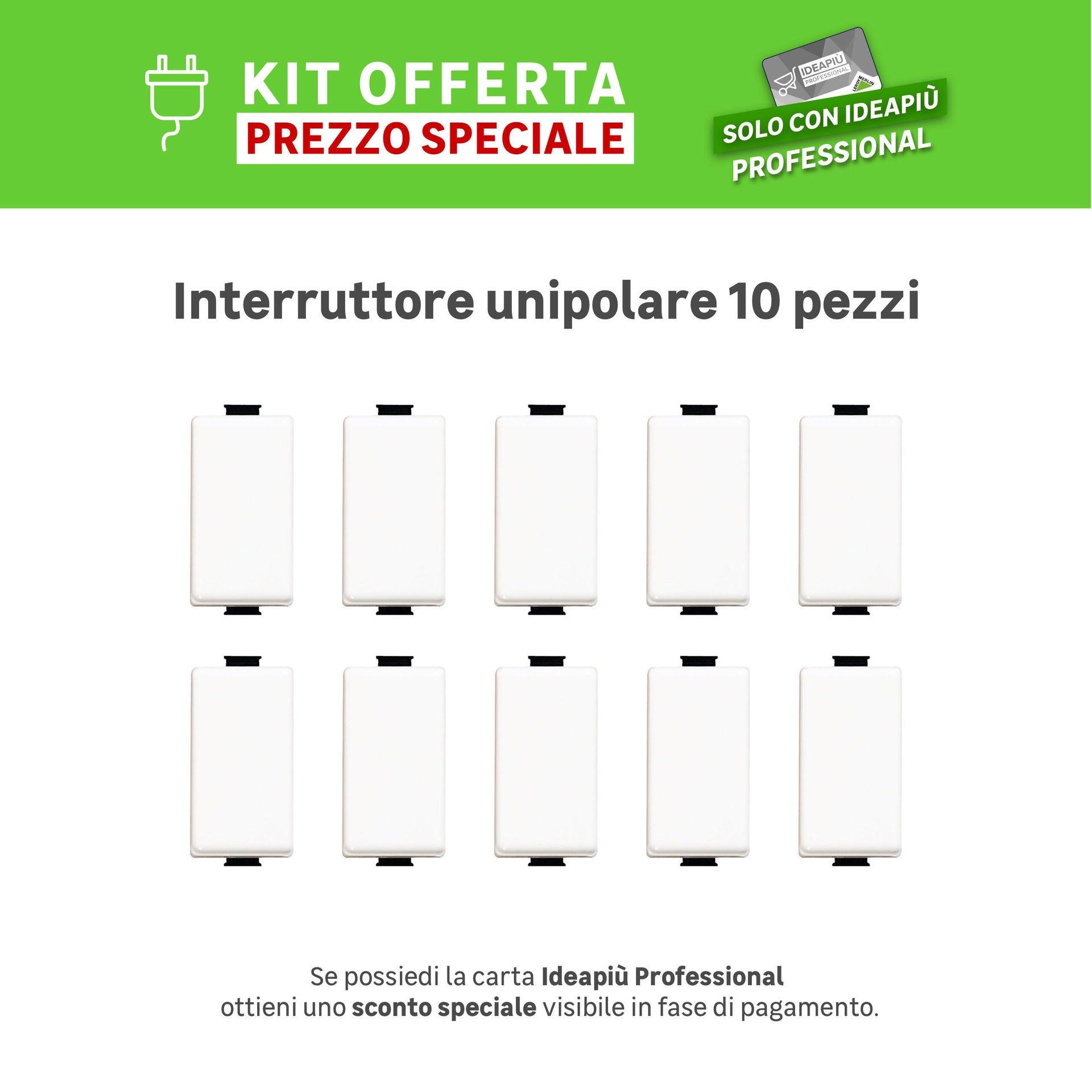 Interruttore Matix BTICINO bianco - 1