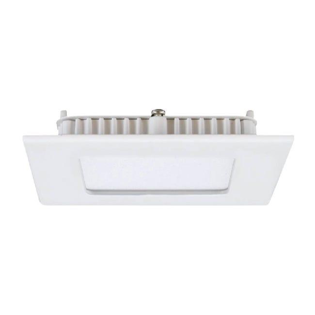 Faretto fisso da incasso quadrato Extraflat xs in Alluminio bianco, LED integrato 28W 28LM IP20 INSPIRE - 1
